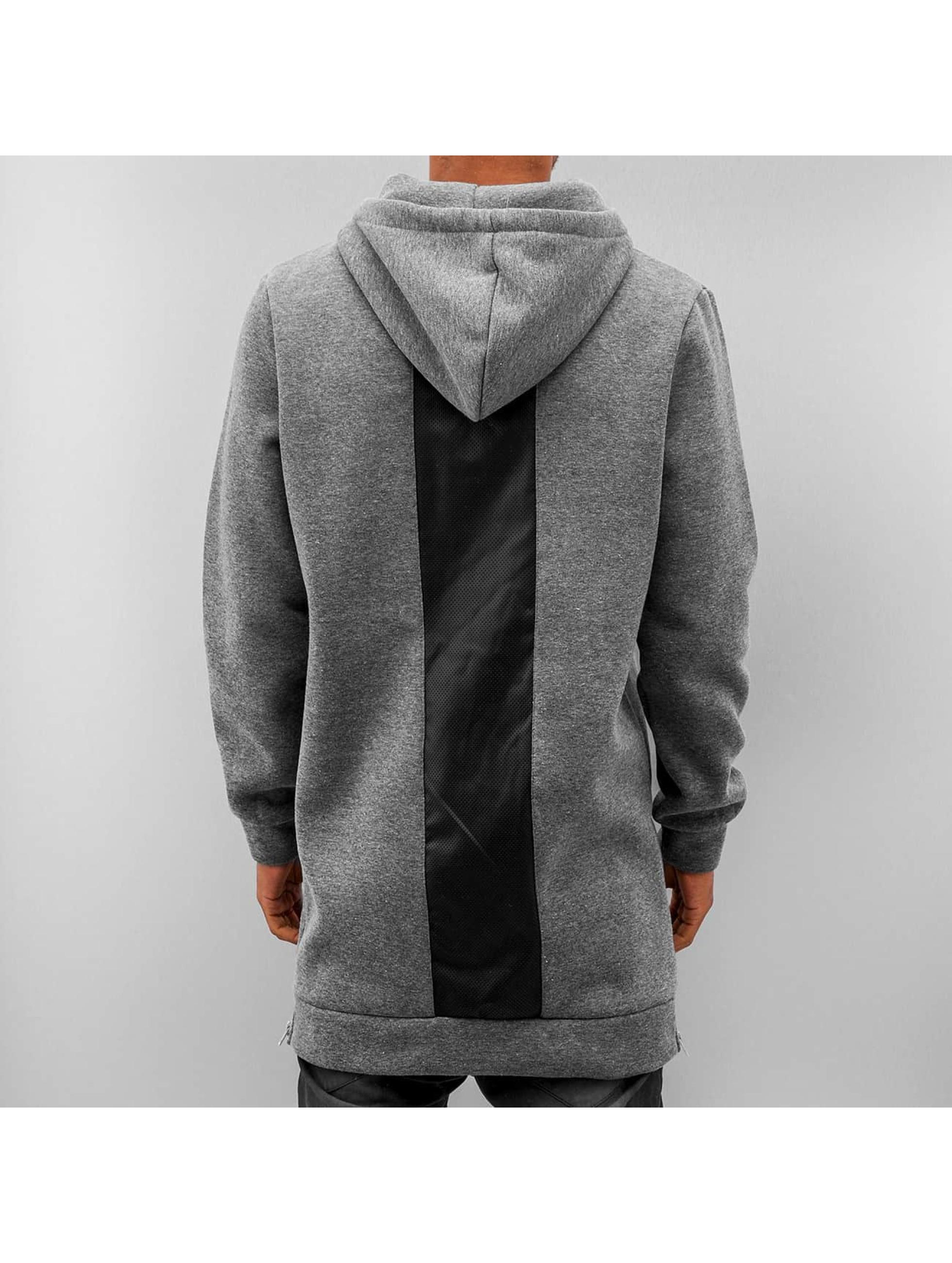 VSCT Clubwear Hoody Mesh grau