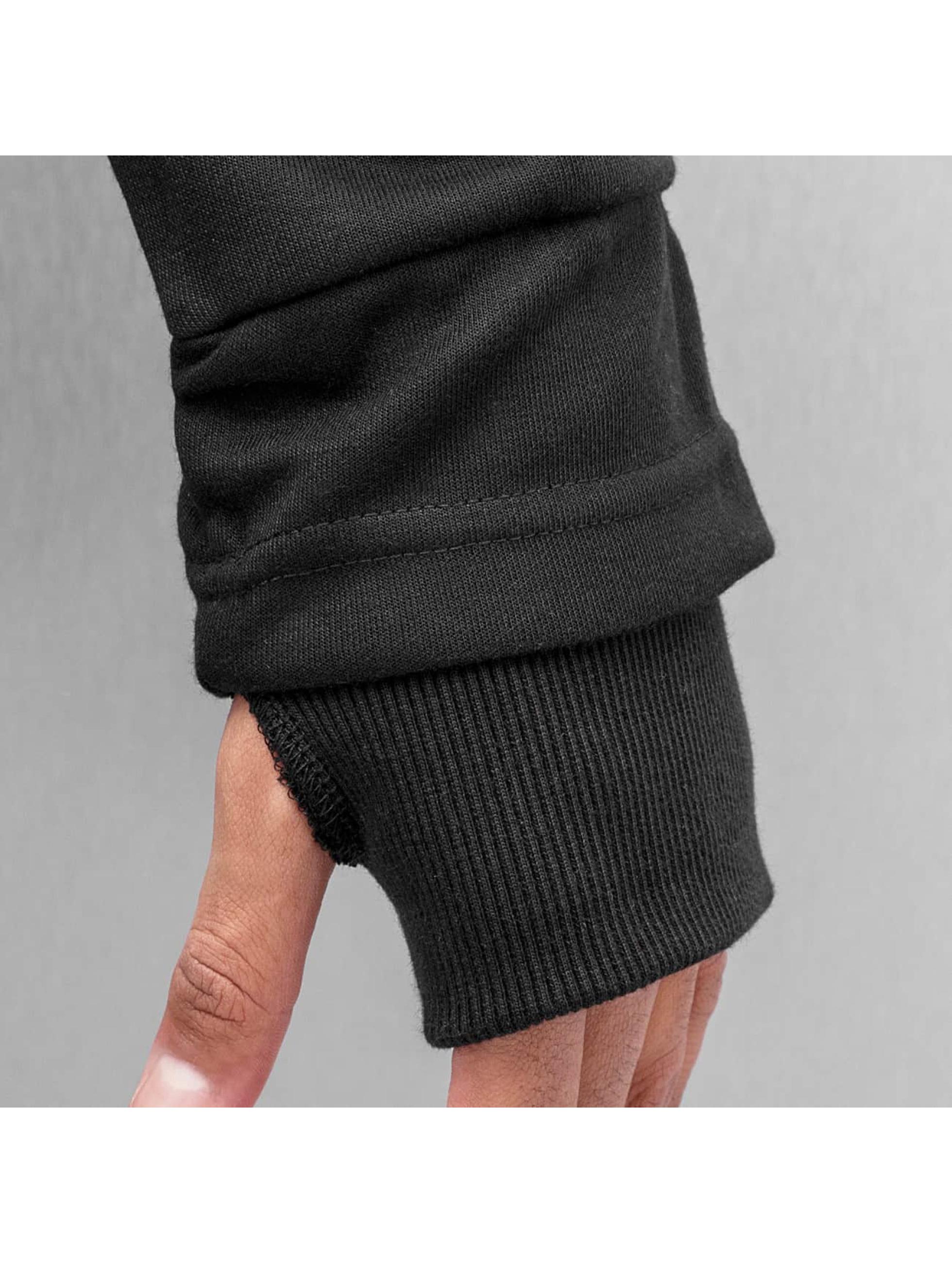VSCT Clubwear Hoody Zip Collar schwarz