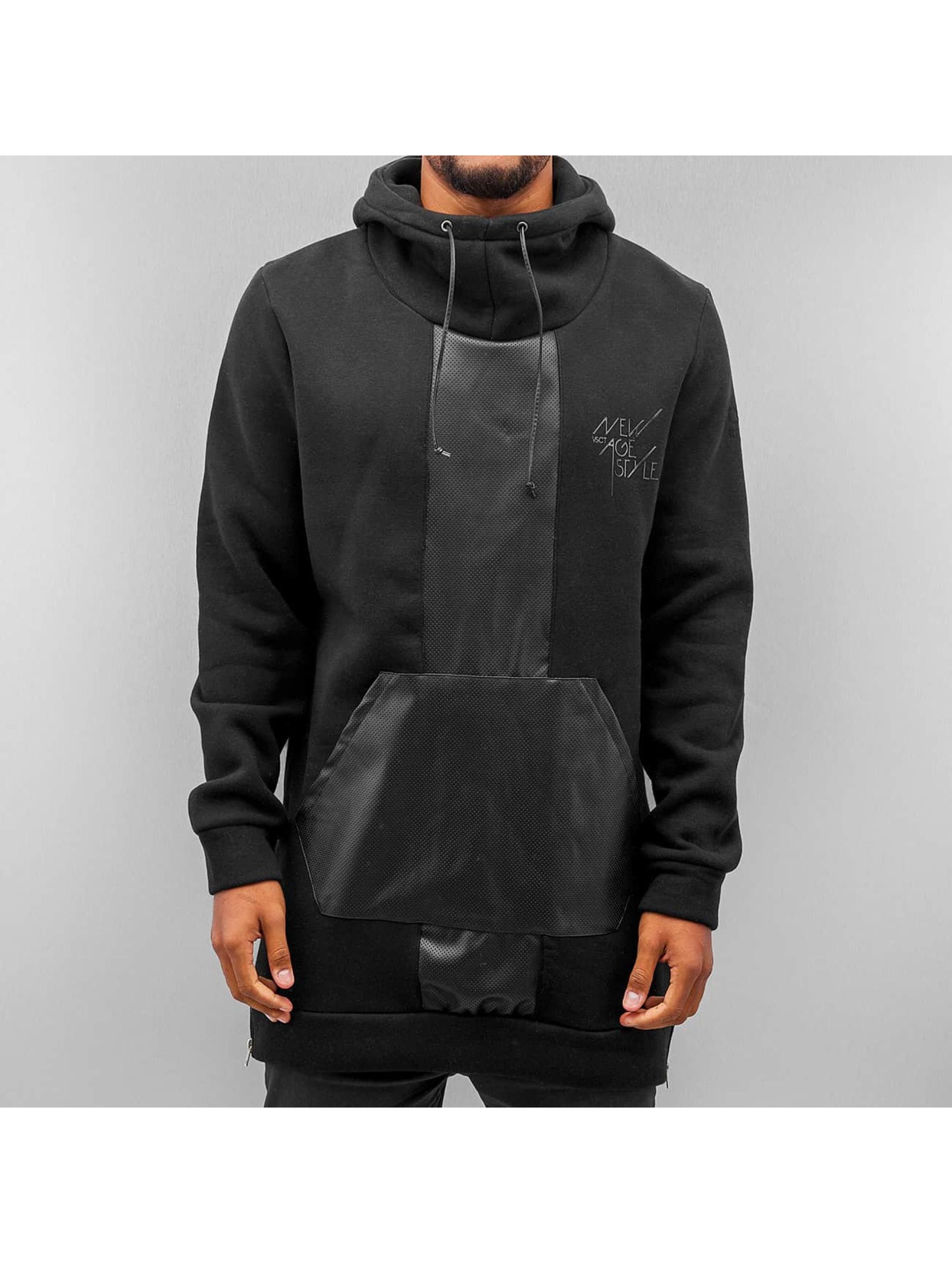 VSCT Clubwear Hoody Mesh schwarz