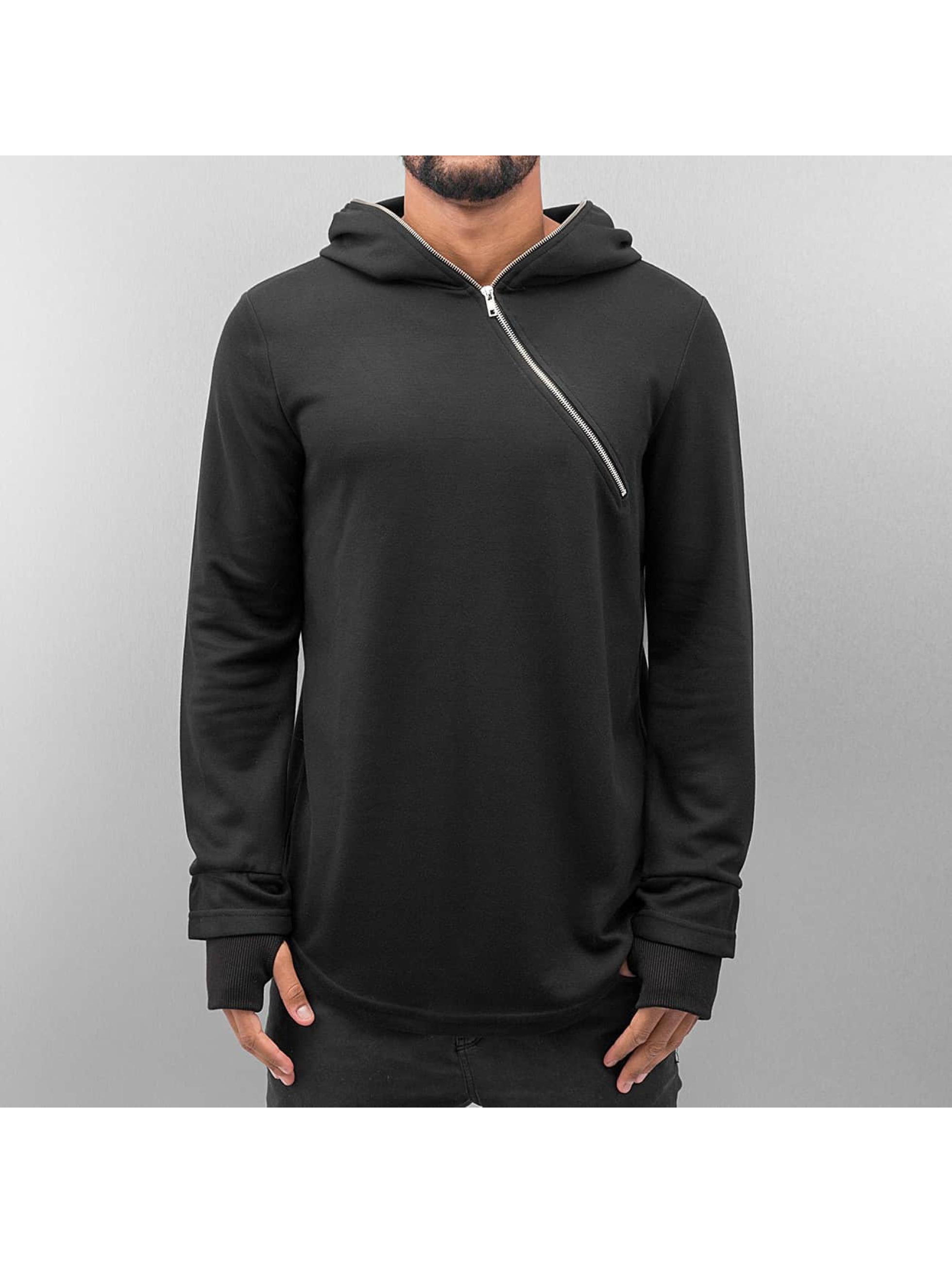 VSCT Clubwear Hupparit Zip Collar musta