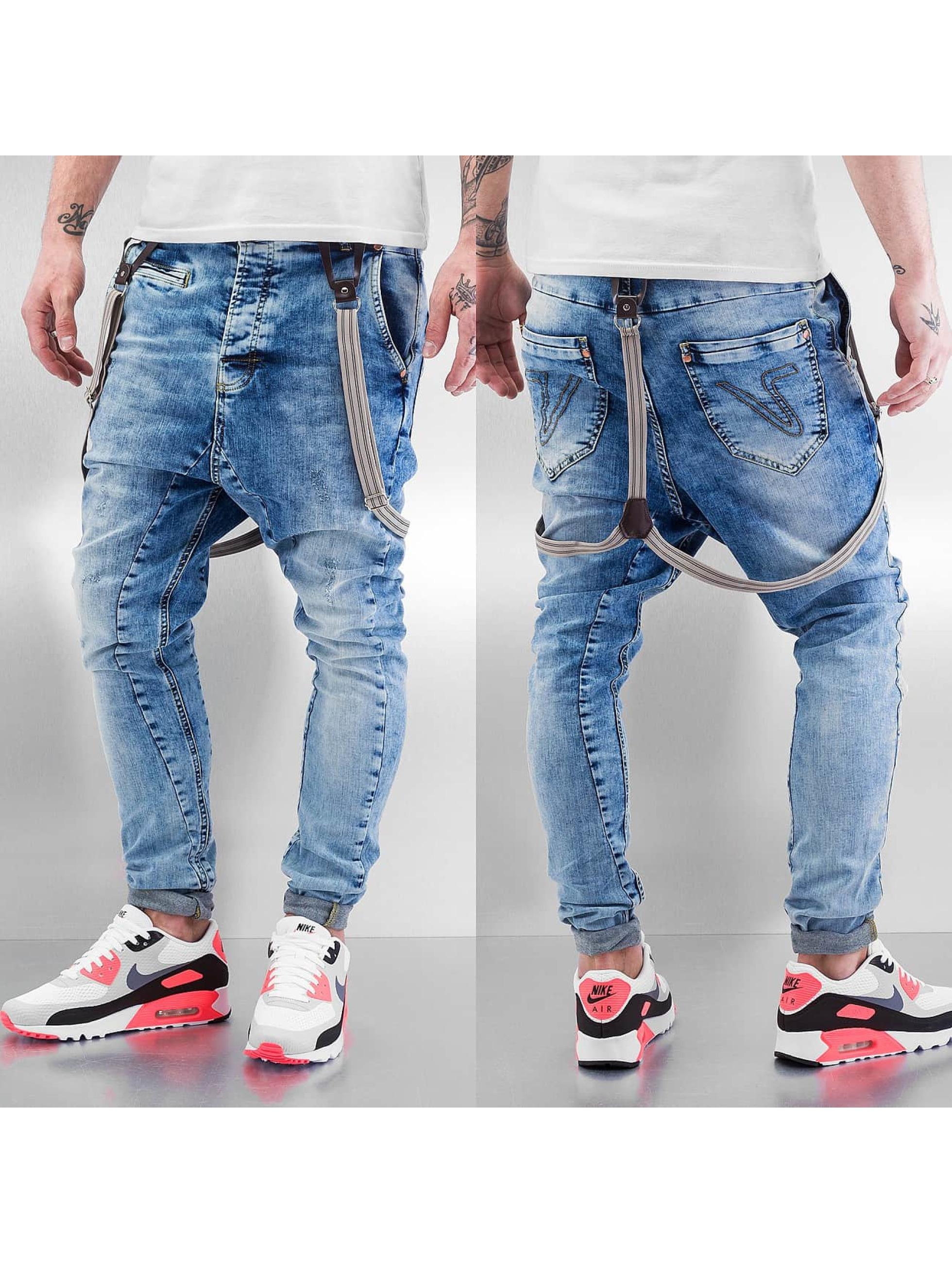 VSCT Clubwear Jean carotte antifit Brad bleu