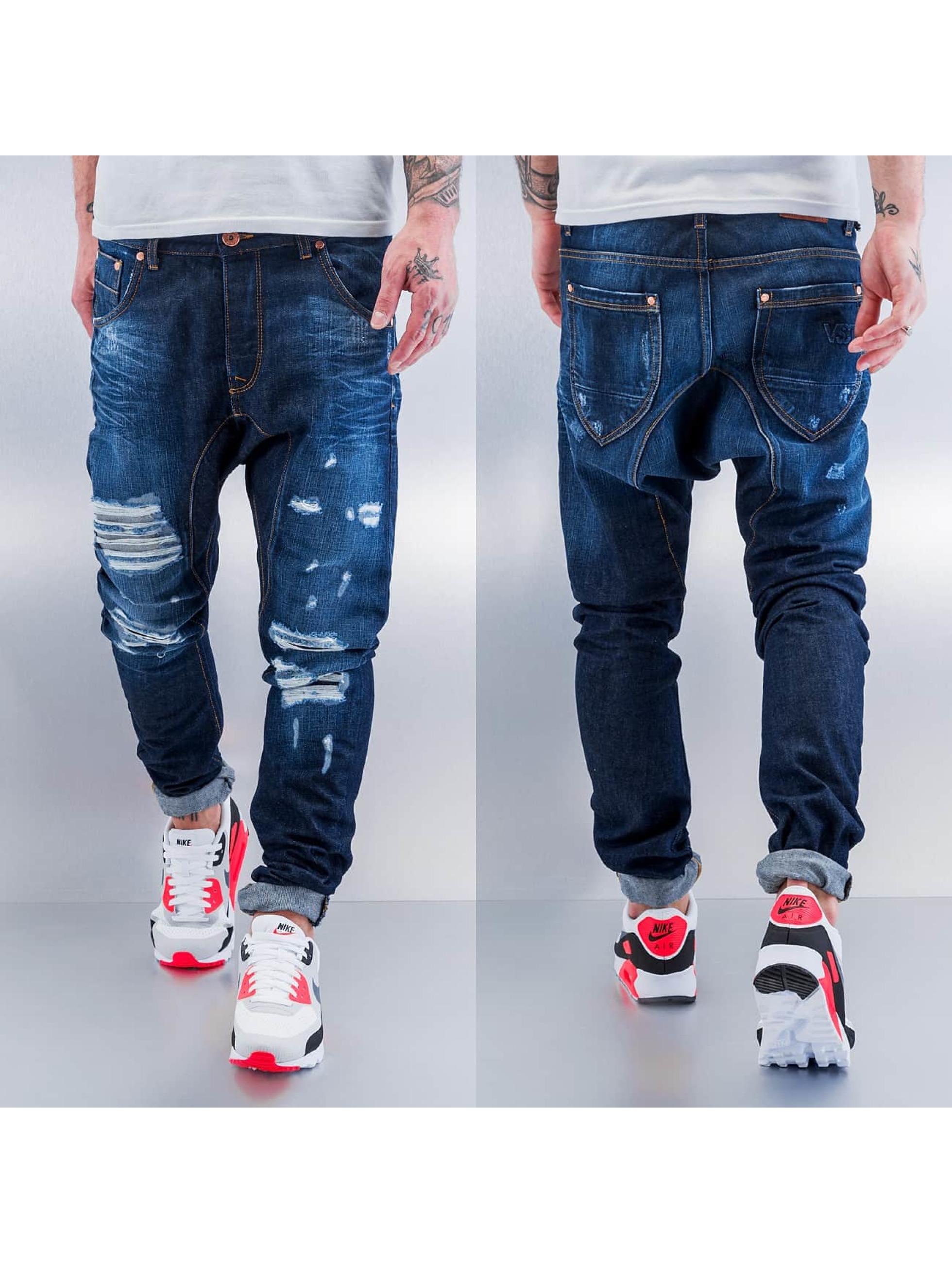 VSCT Clubwear Jean carotte antifit Spencer Lowcrotch bleu