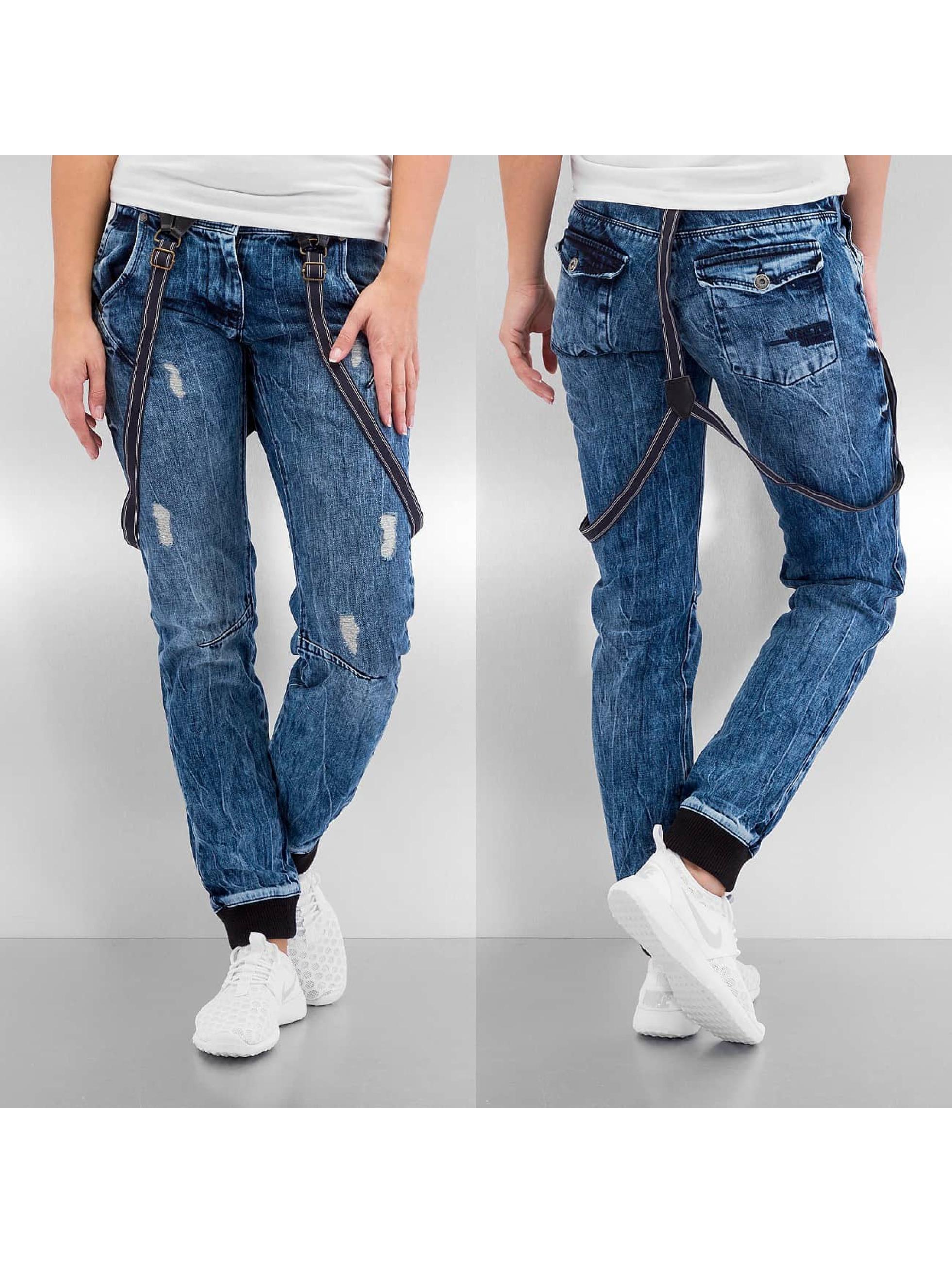 VSCT Clubwear Jean carotte antifit Bente bleu