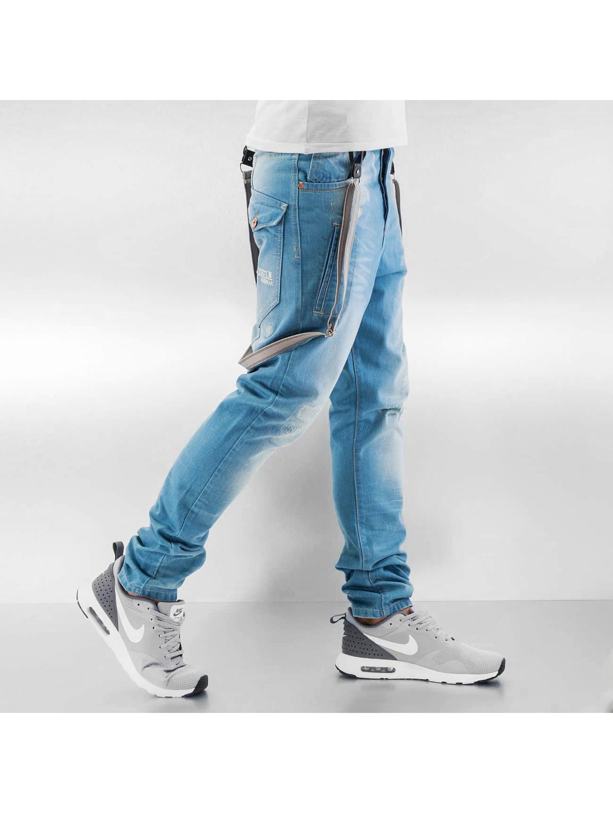 VSCT Clubwear Jean carotte antifit Brad Solid bleu