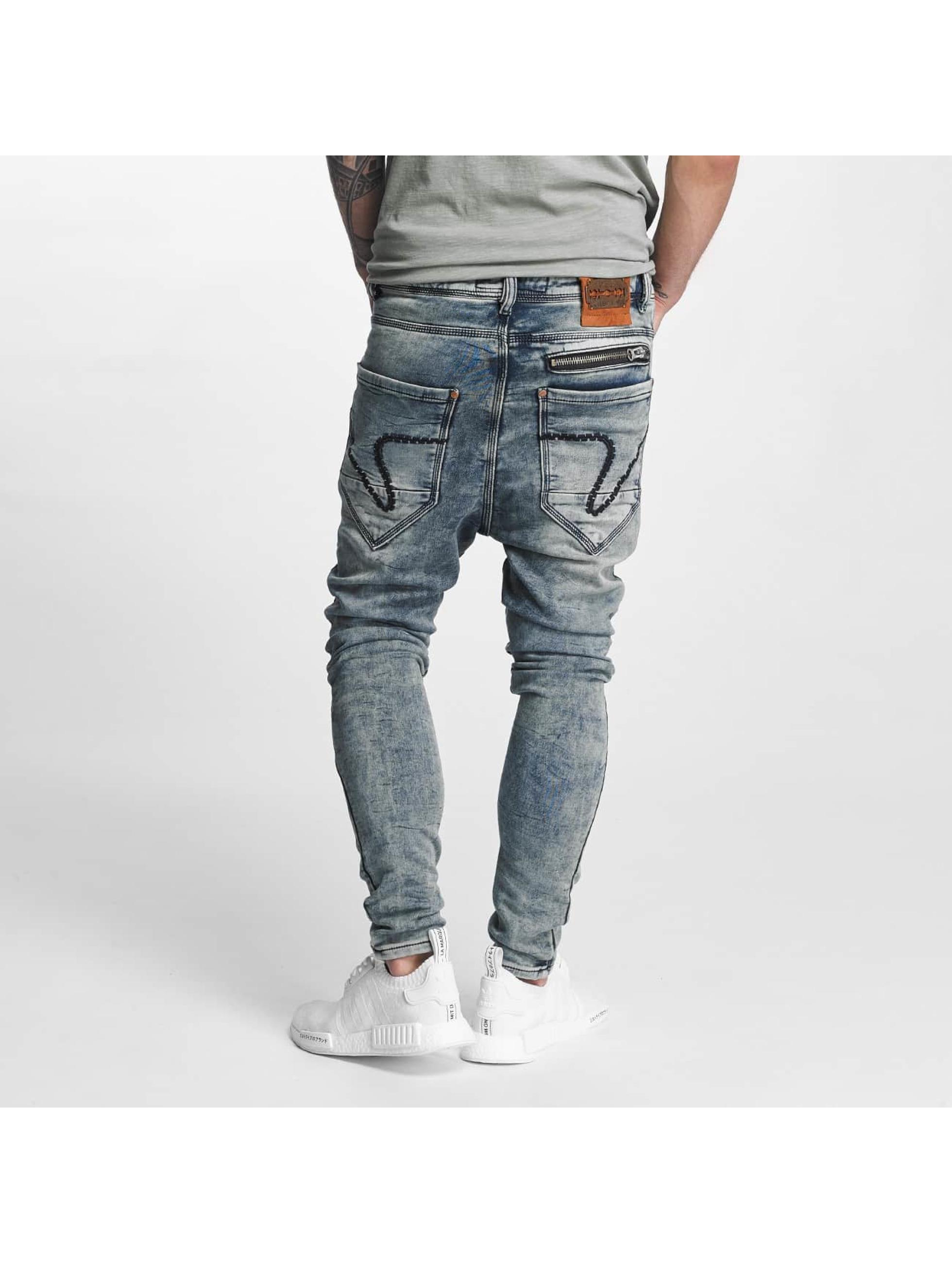 VSCT Clubwear Jean carotte antifit Kyoto Jogg Bleached bleu