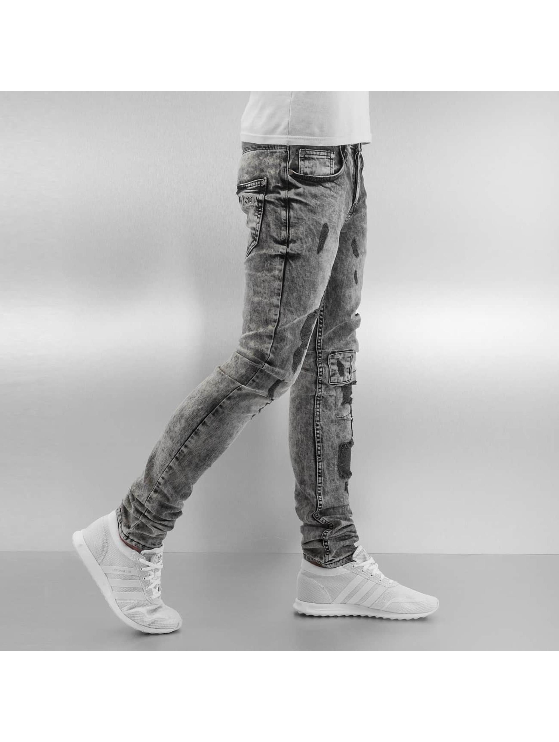 VSCT Clubwear Jean skinny Alec Slim 5 Pocket noir