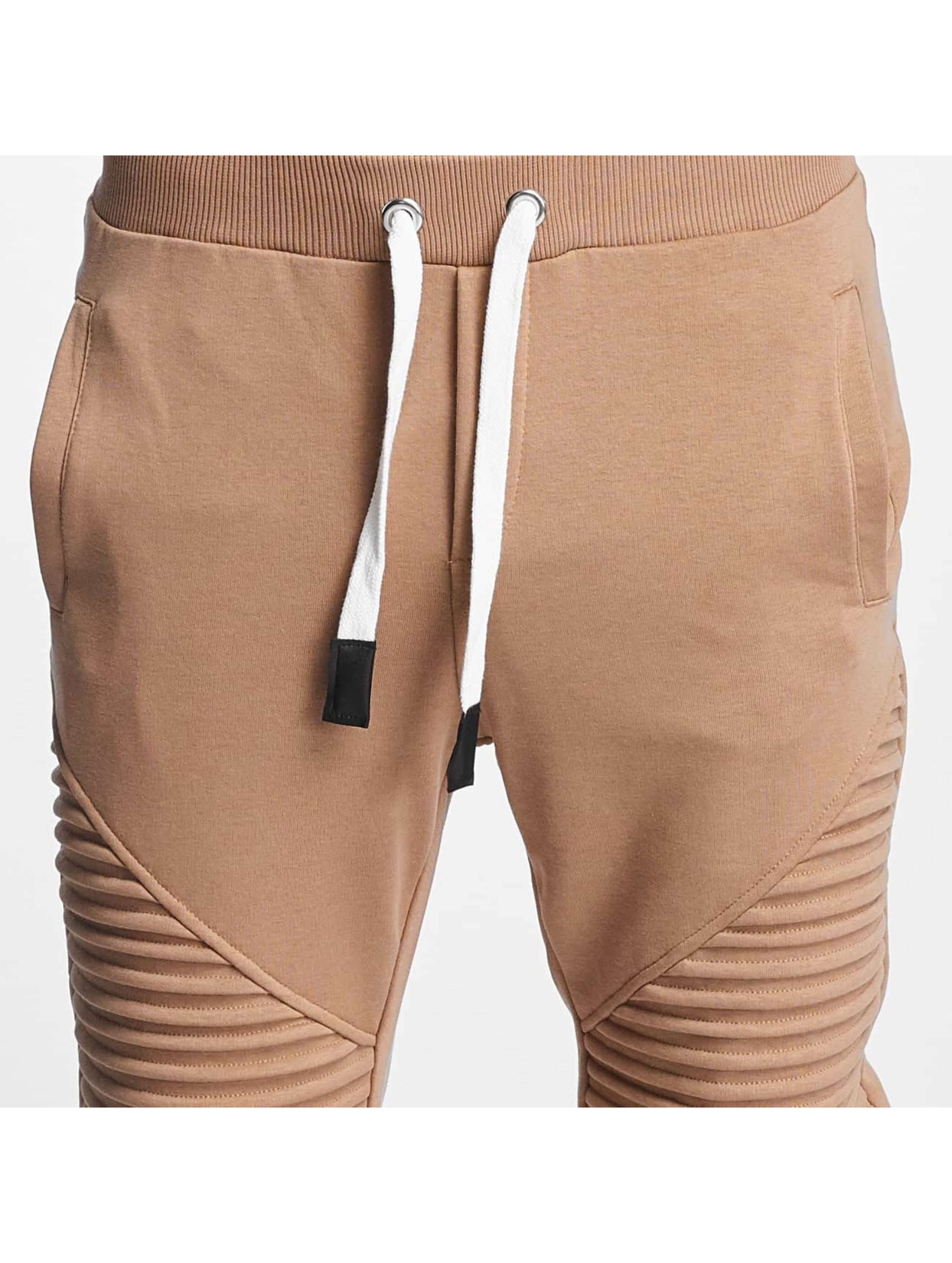 VSCT Clubwear Joggebukser Destroyed Biker brun