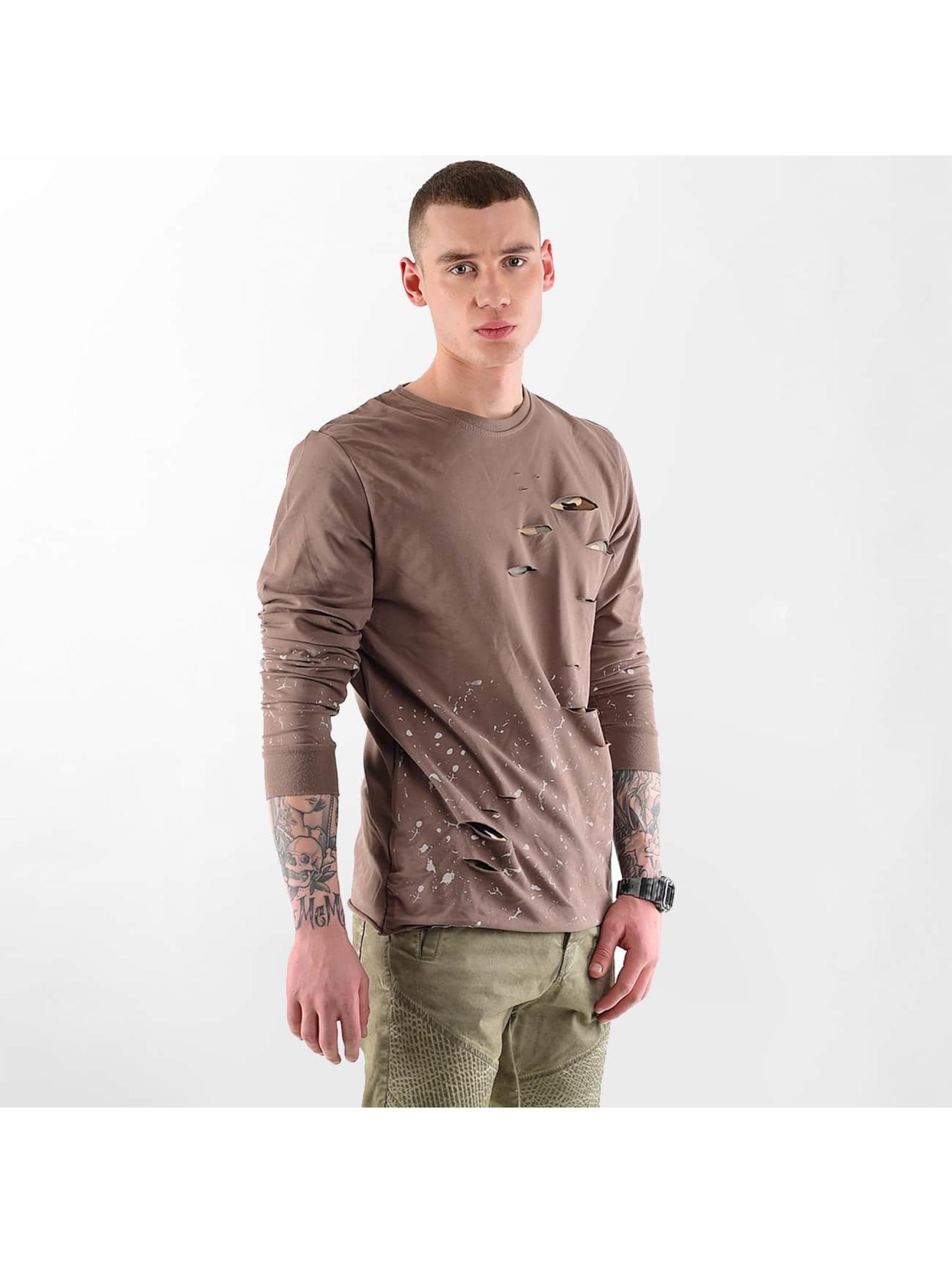 VSCT Clubwear Jumper Slashed brown