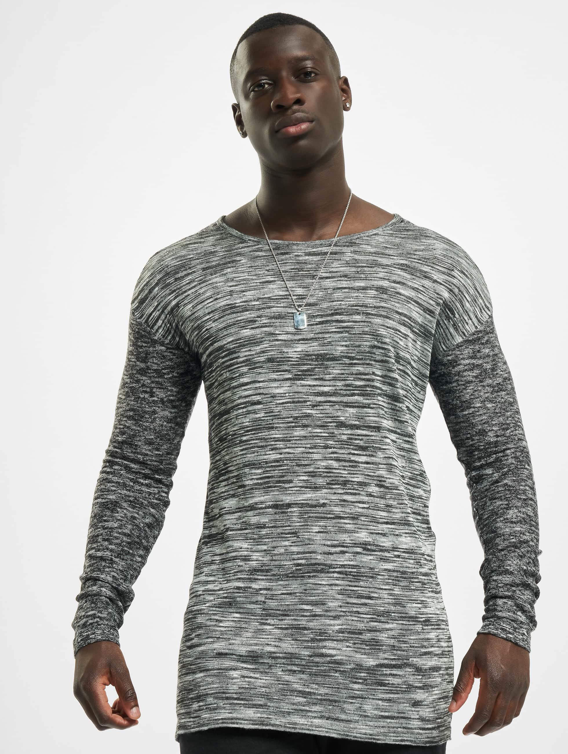 VSCT Clubwear Jumper 2 Colour Moulinee grey