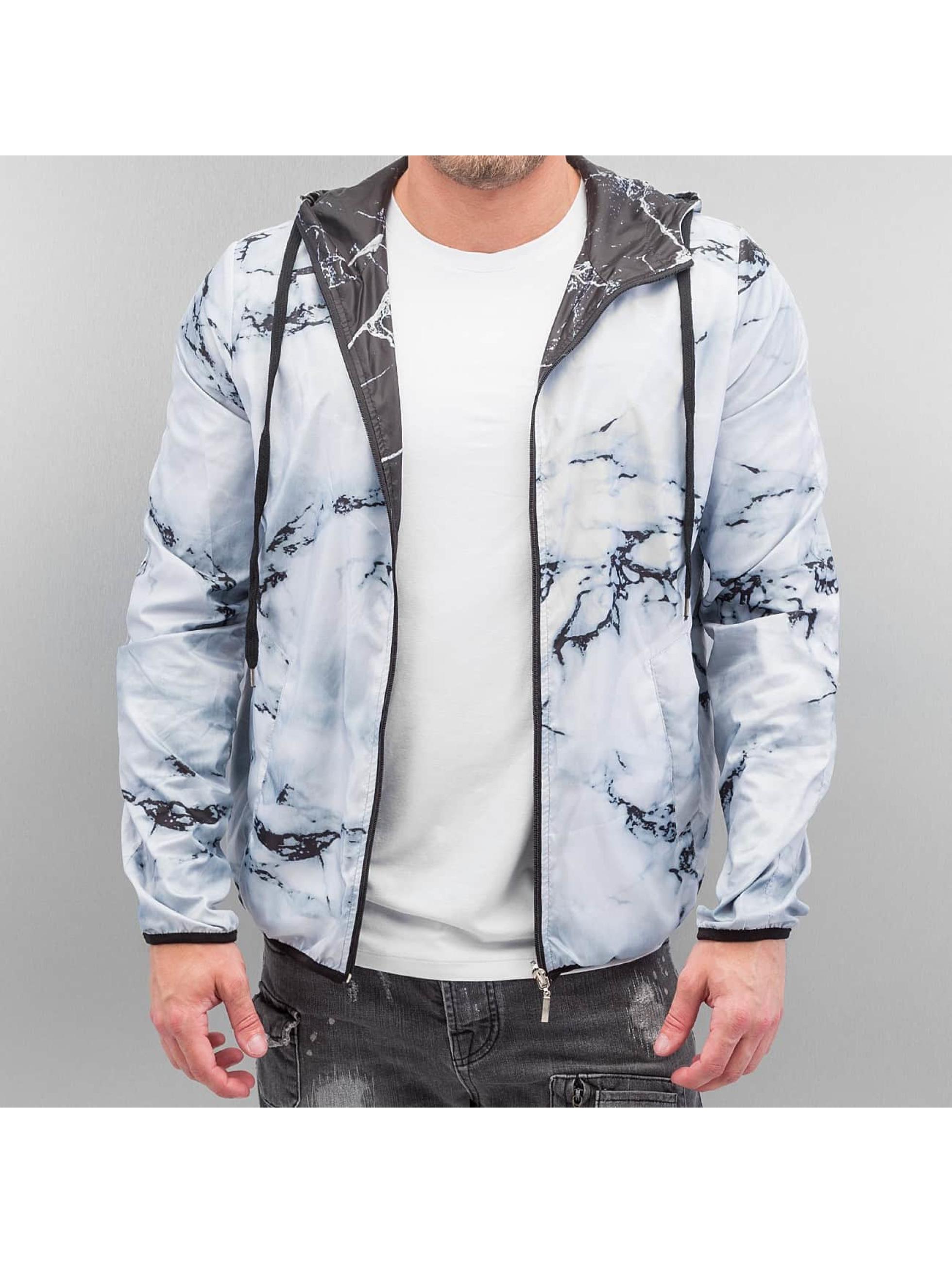 VSCT Clubwear Kurtki przejściowe Marble 2in1 Reversible czarny