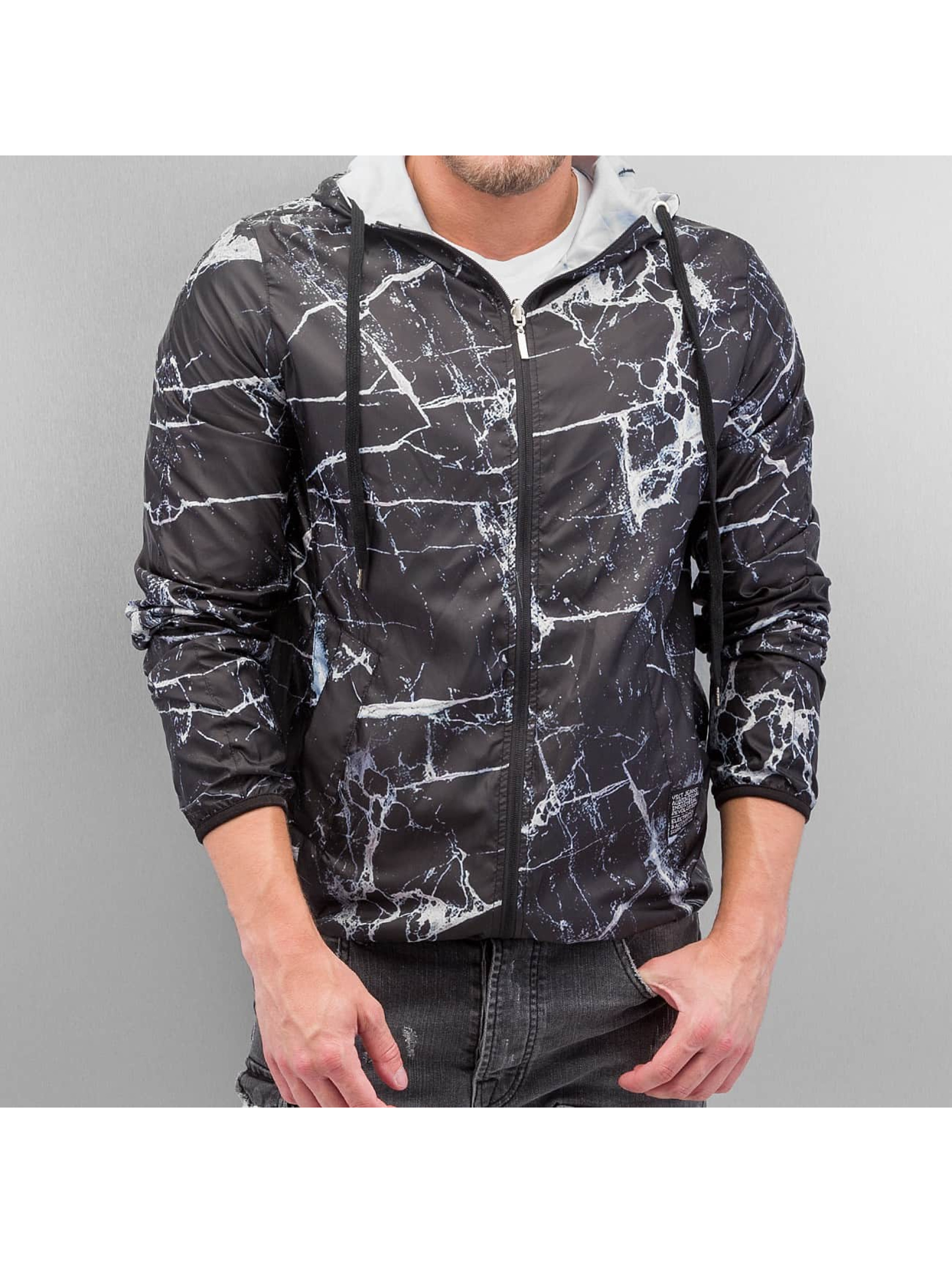 VSCT Clubwear Lightweight Jacket Marble 2in1 Reversible black
