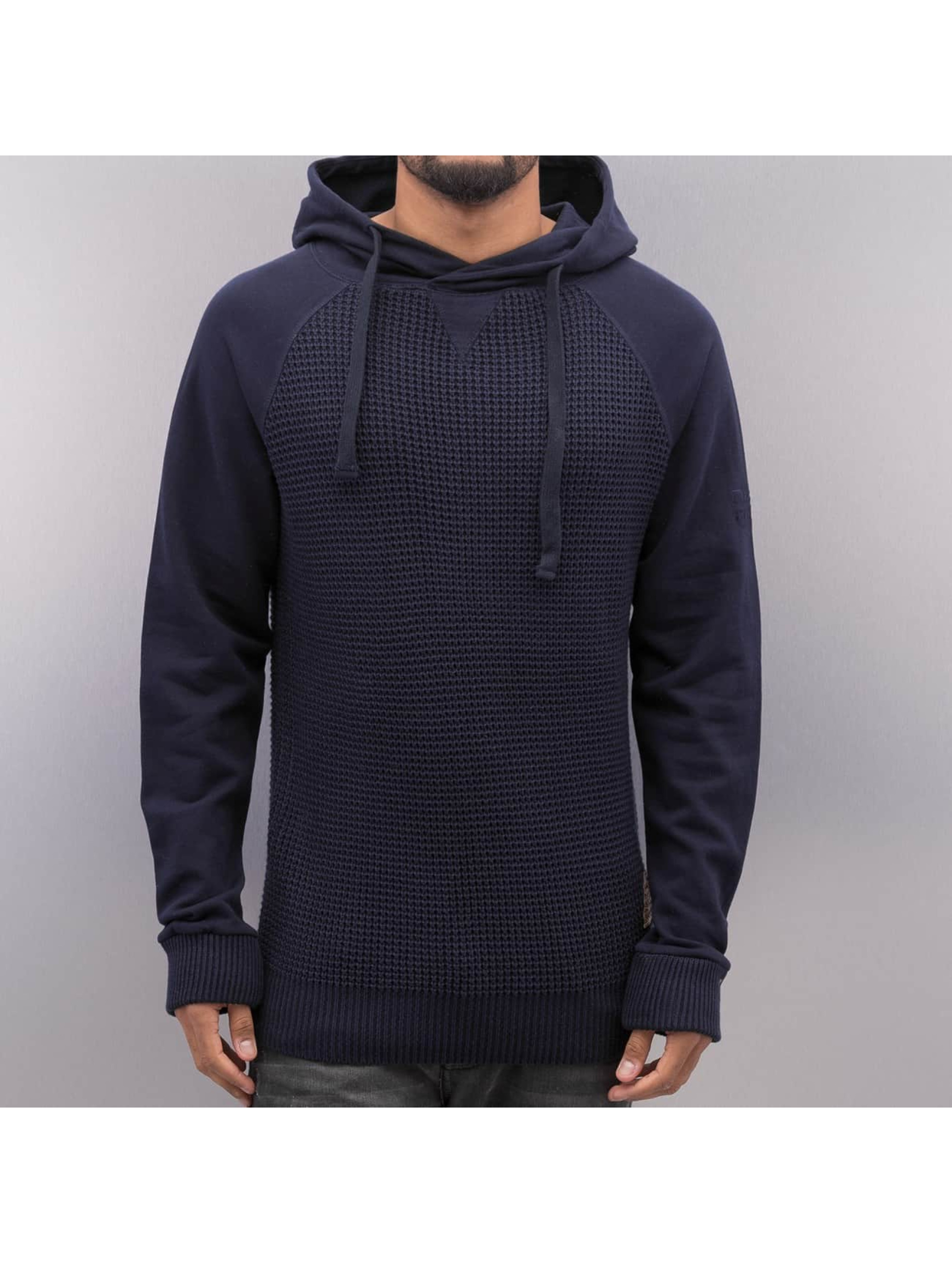 VSCT Clubwear Mikiny Knit Sweat Waffle modrá