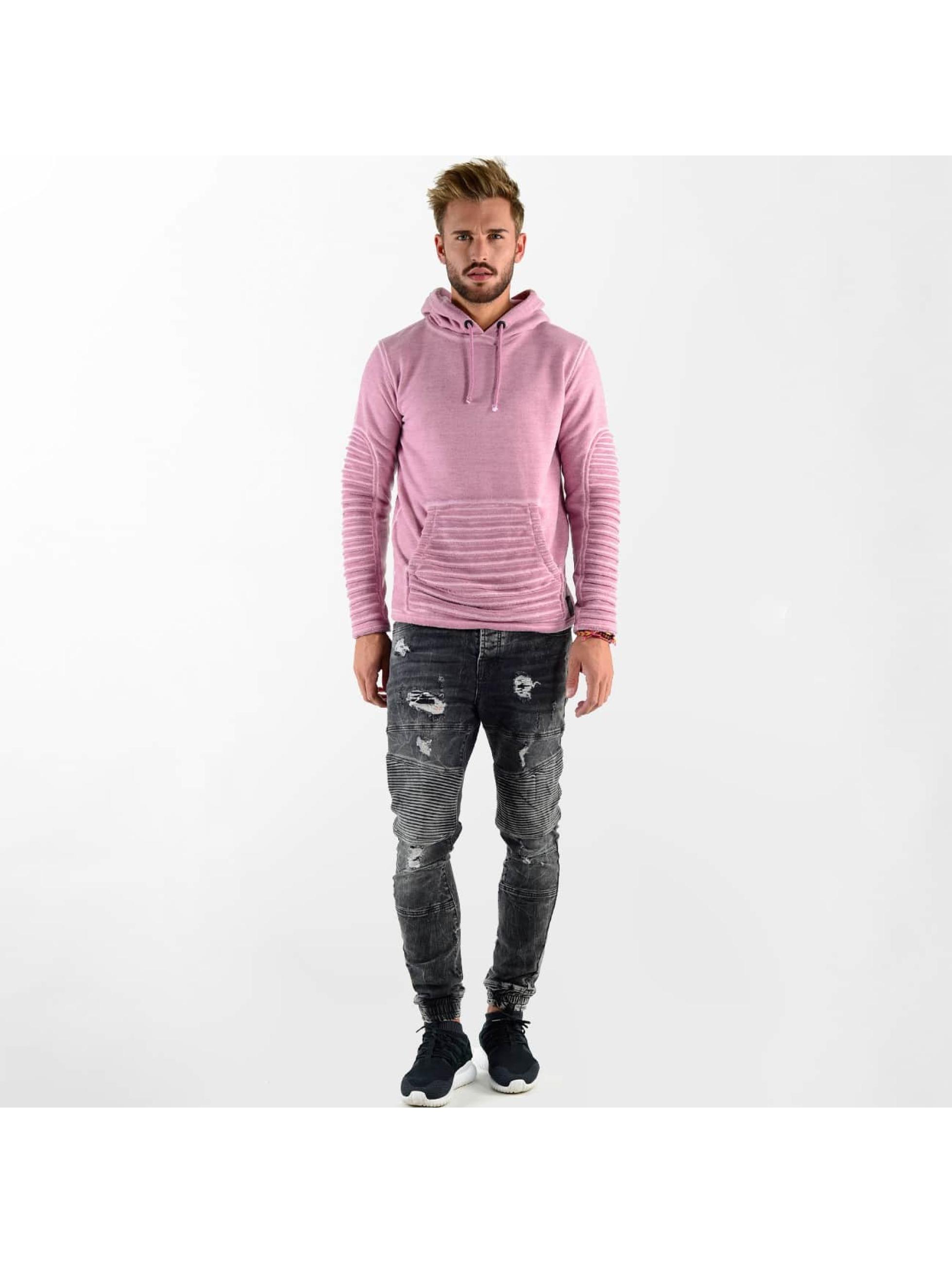 VSCT Clubwear Mikiny Biker Oilwash ružová