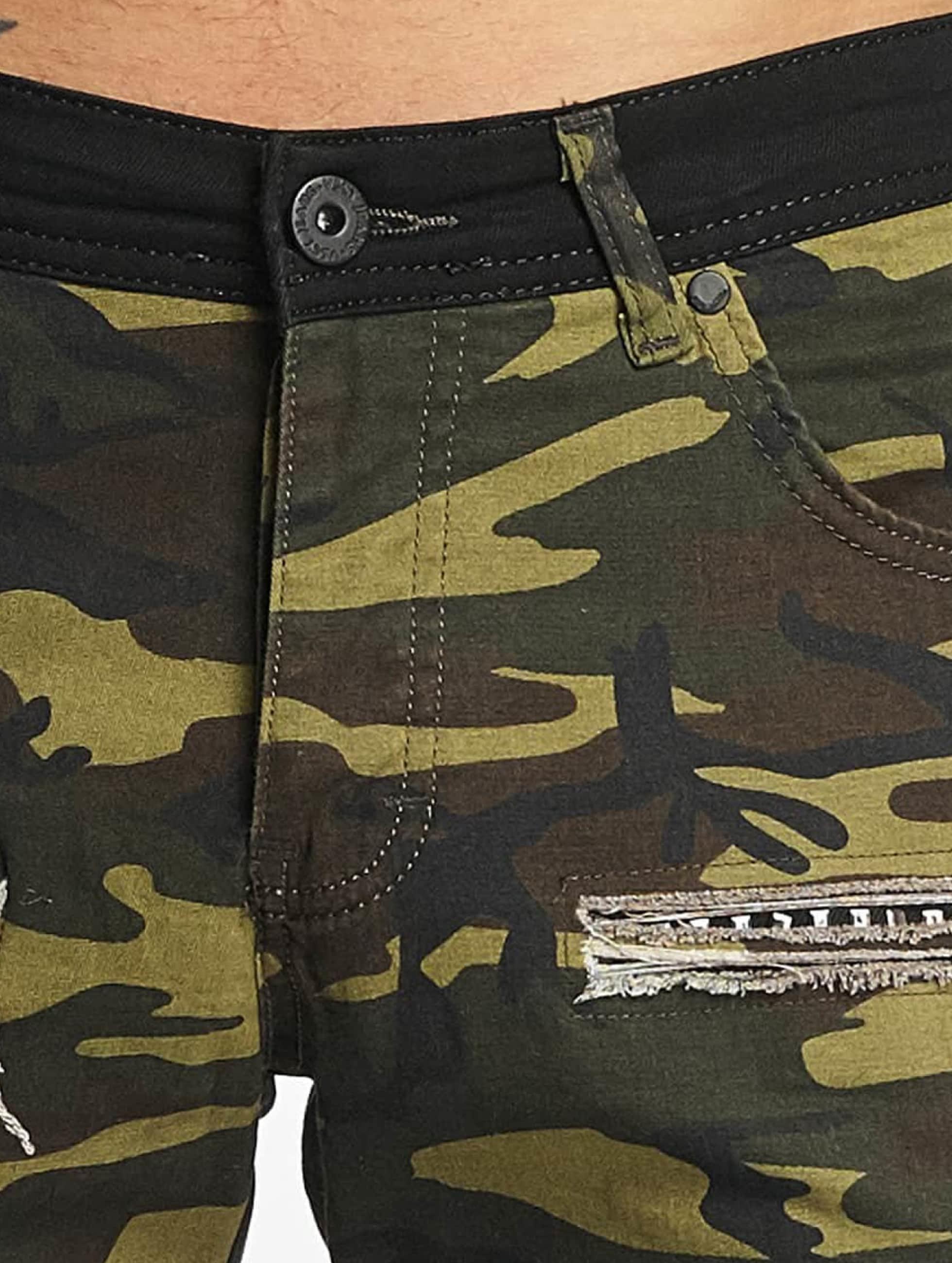 VSCT Clubwear Pantalón cortos Biker camuflaje