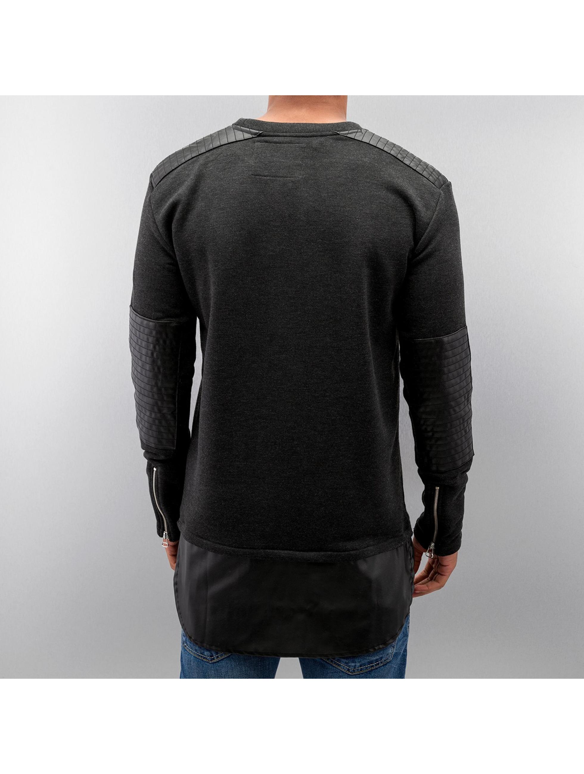 VSCT Clubwear Pullover Biker grau