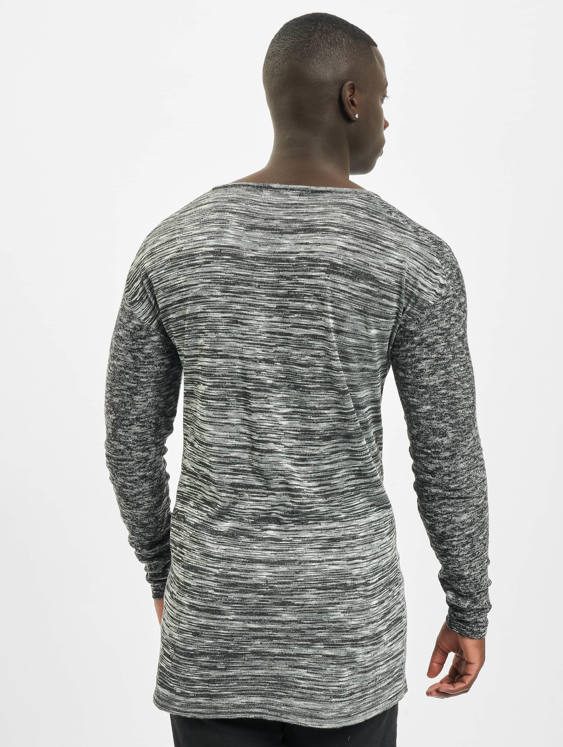 VSCT Clubwear Pullover 2 Colour Moulinee grau