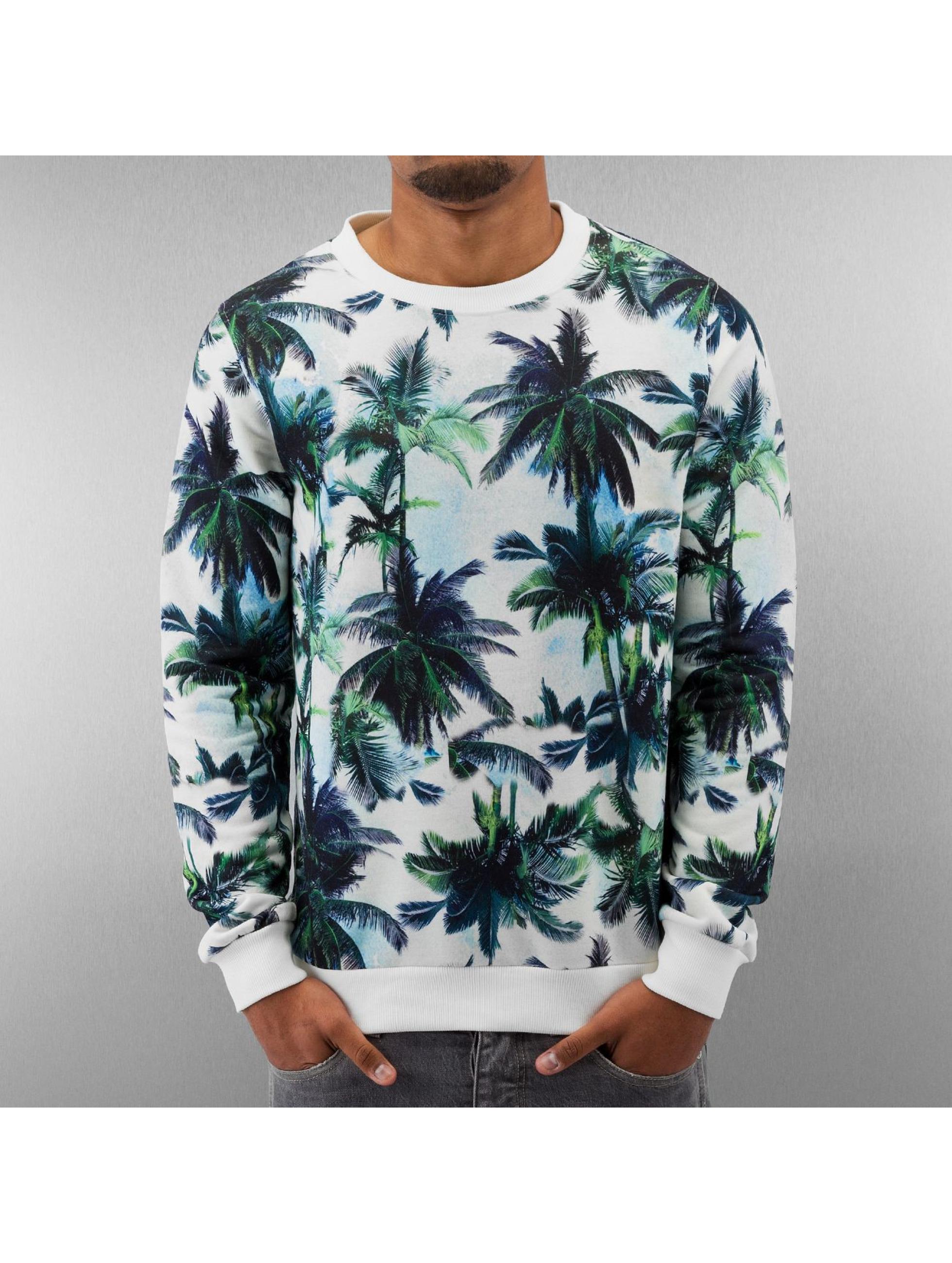 Pullover Palms in weiß