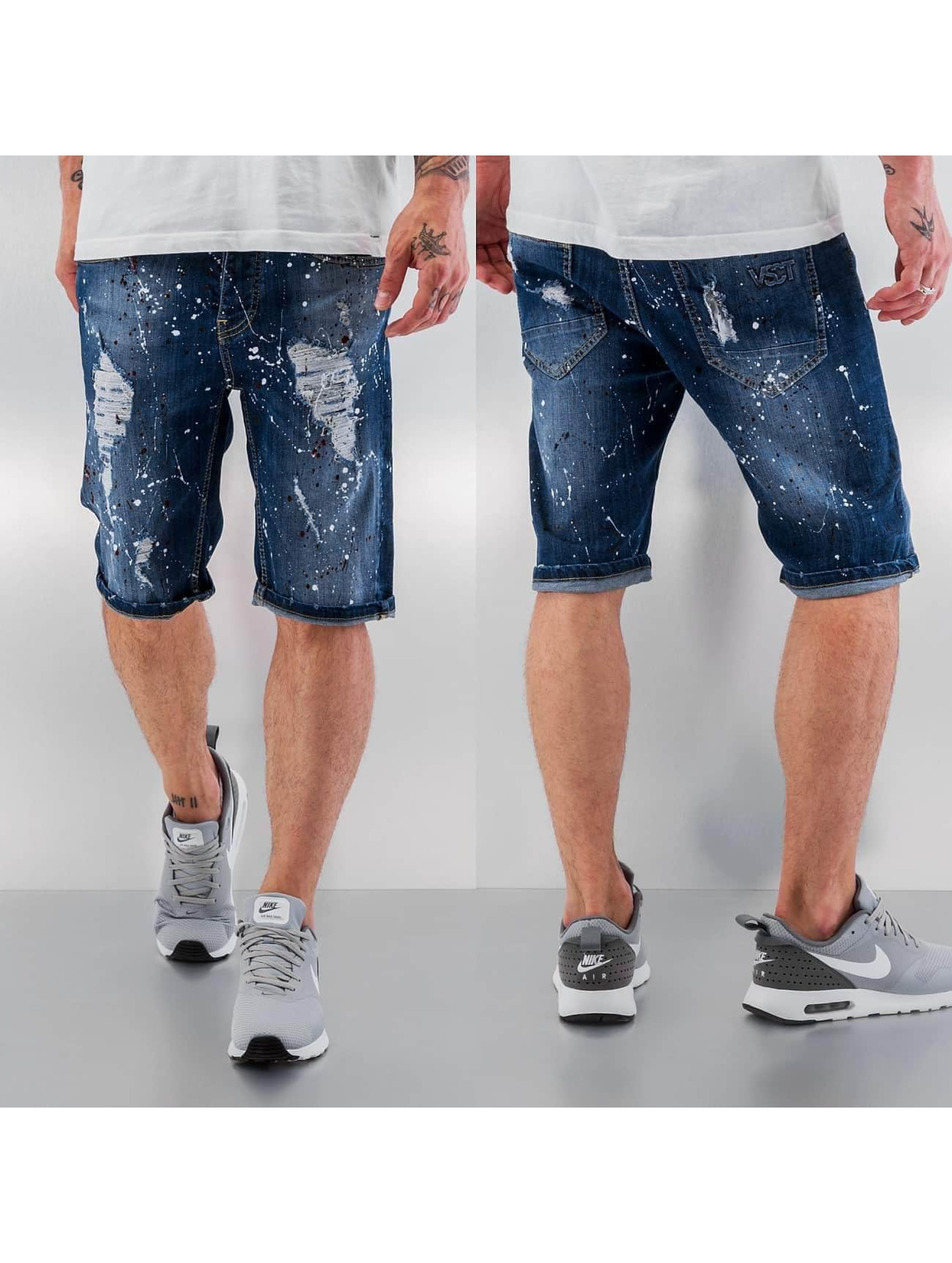 VSCT Clubwear Short Alec Stoned blue