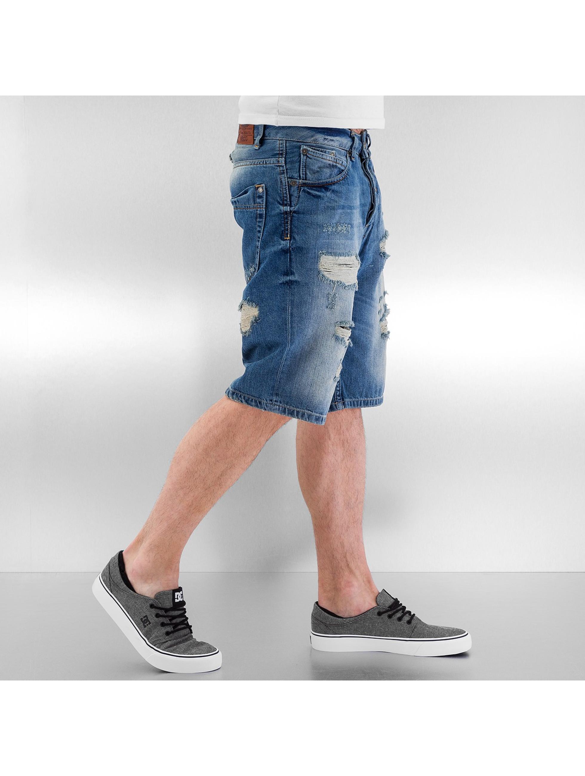 VSCT Clubwear Shorts Anthony Denim Bermuda blau