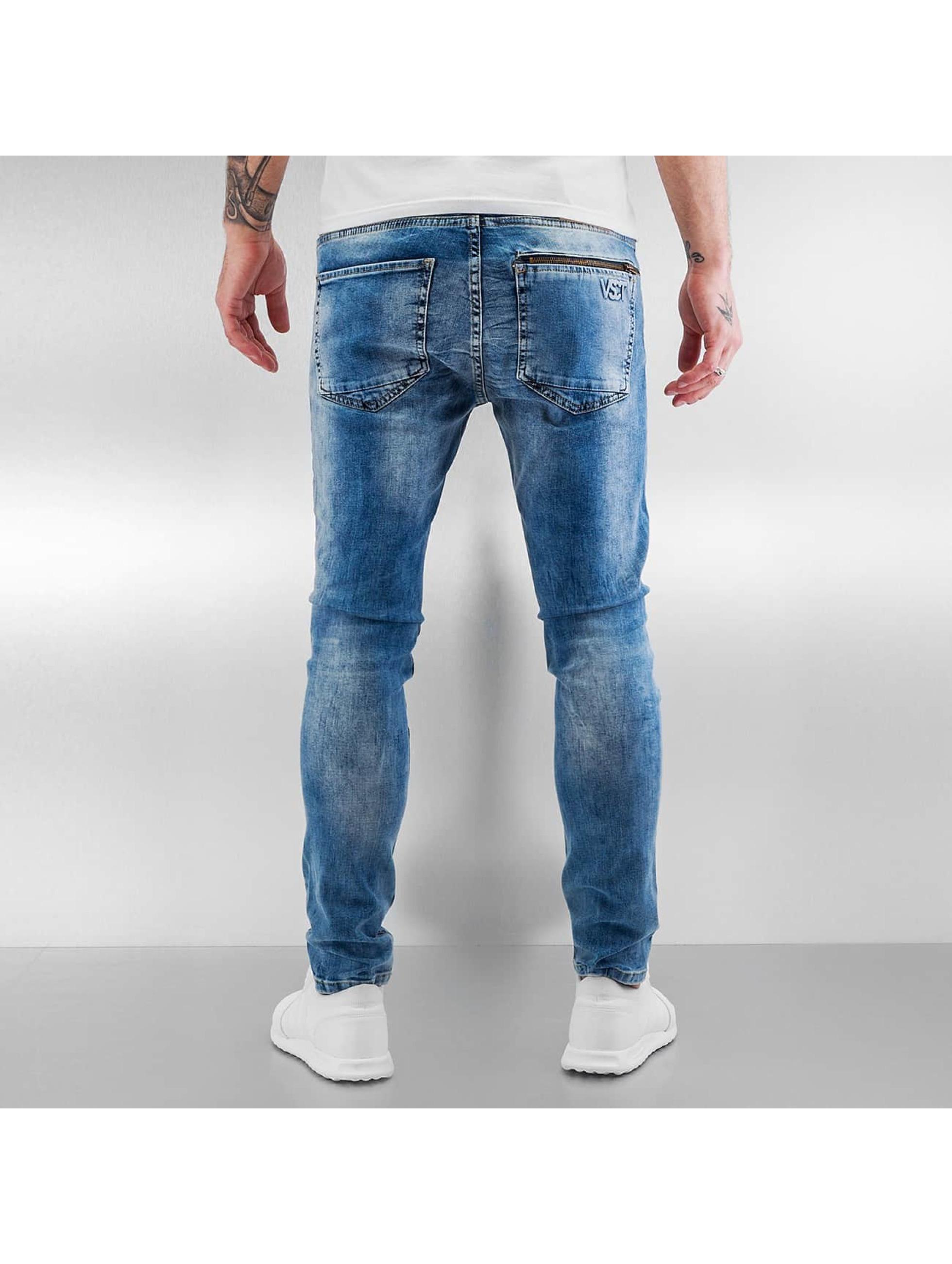 VSCT Clubwear Skinny Jeans Lazer Racer blue