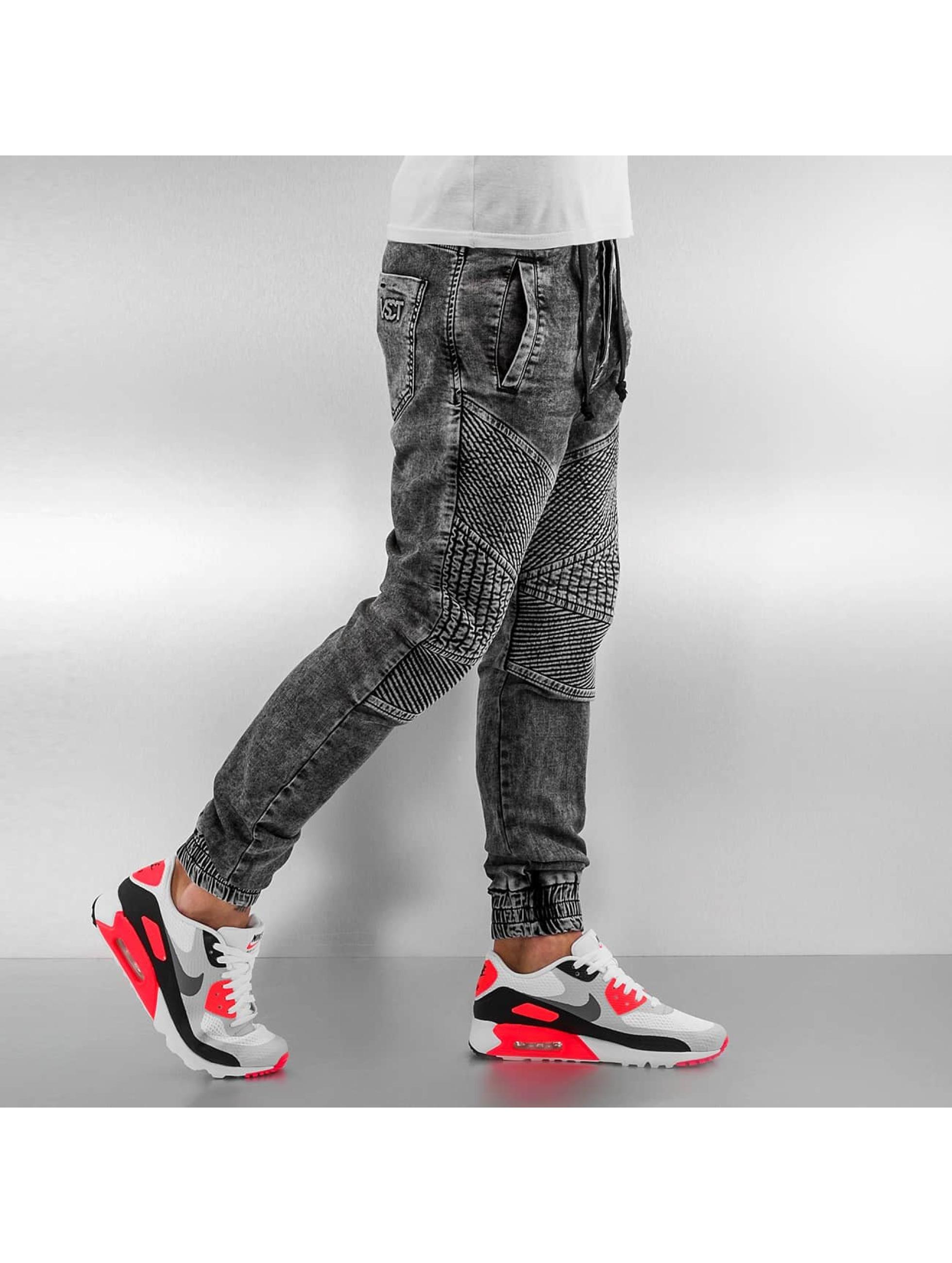VSCT Clubwear Skinny Jeans Neo Cuffed grau