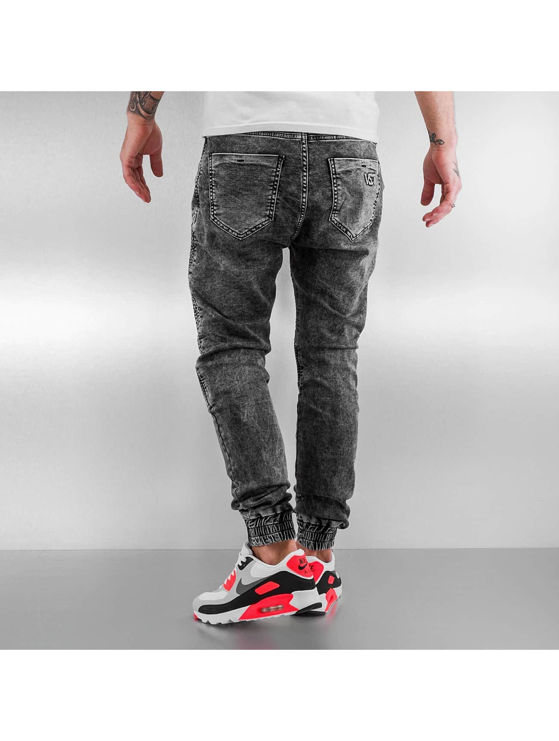 VSCT Clubwear Skinny jeans Neo Cuffed grijs