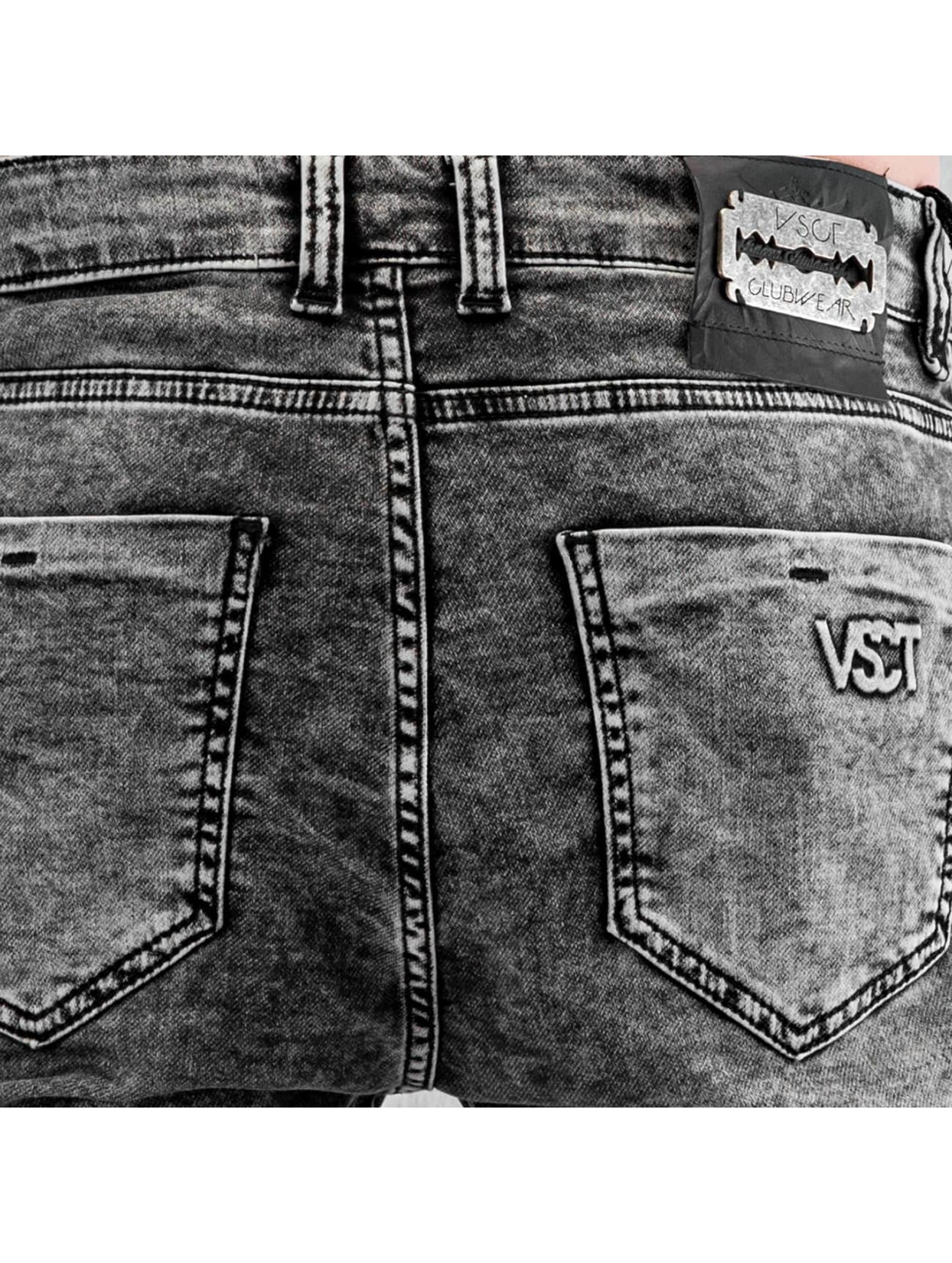 VSCT Clubwear Skinny Jeans Neo Cuffed szary