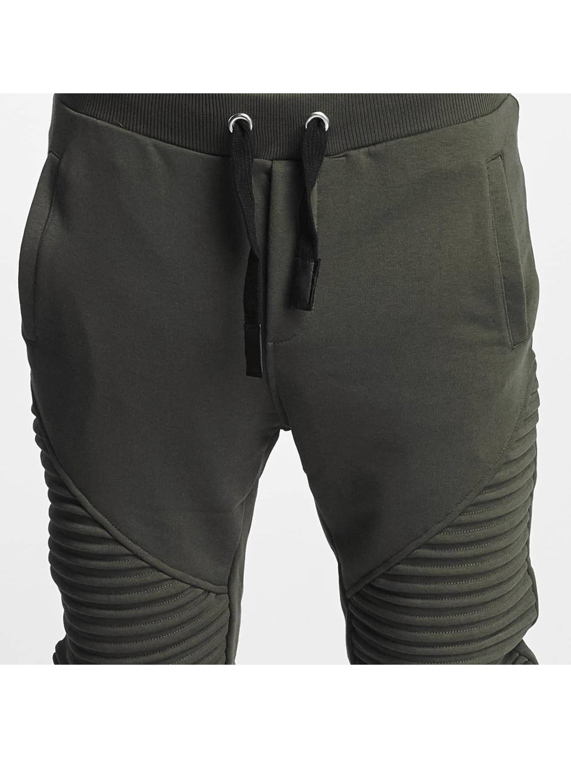 VSCT Clubwear Spodnie do joggingu Destroyed Biker khaki