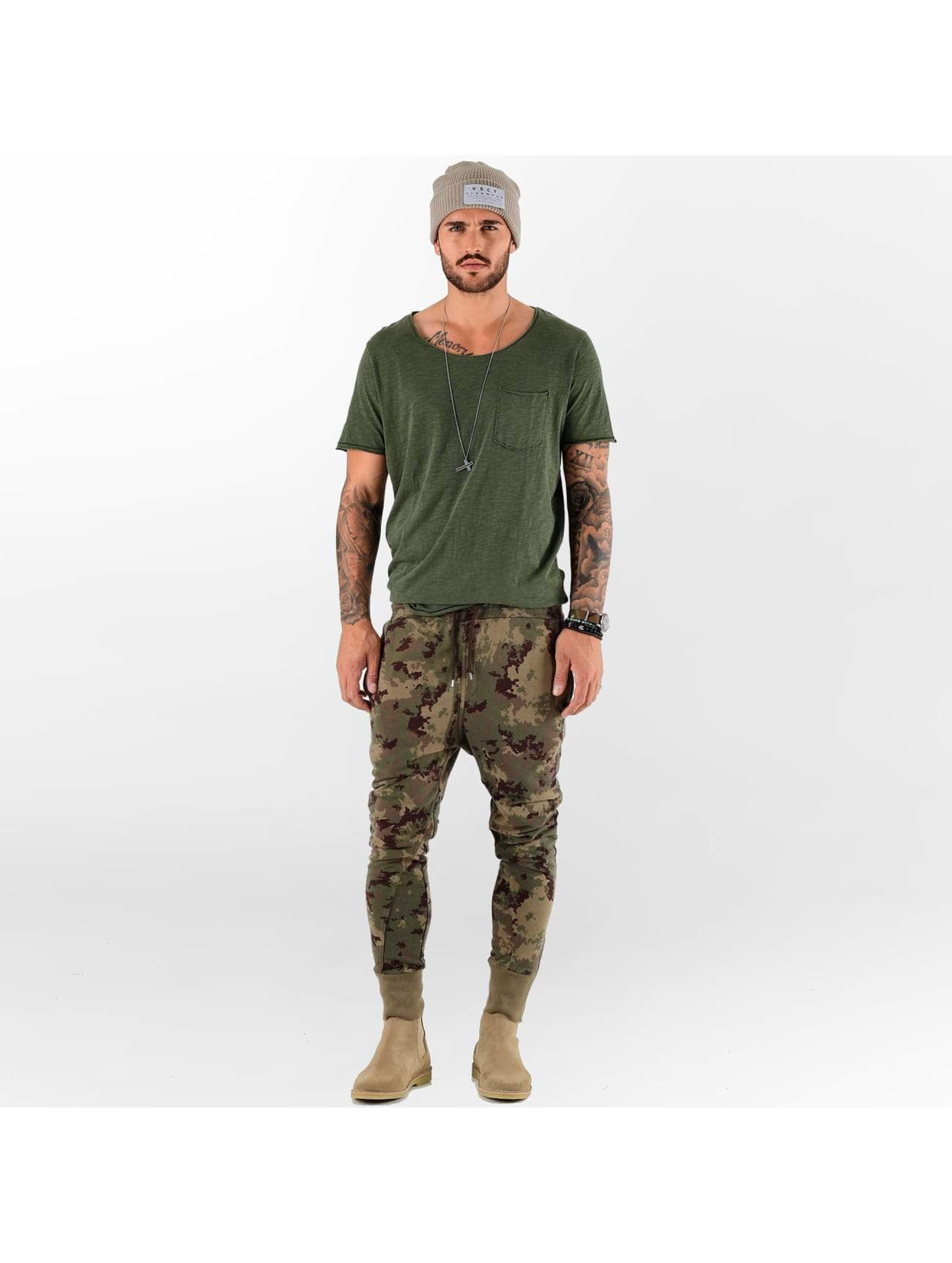VSCT Clubwear Spodnie do joggingu Camo Sweat moro