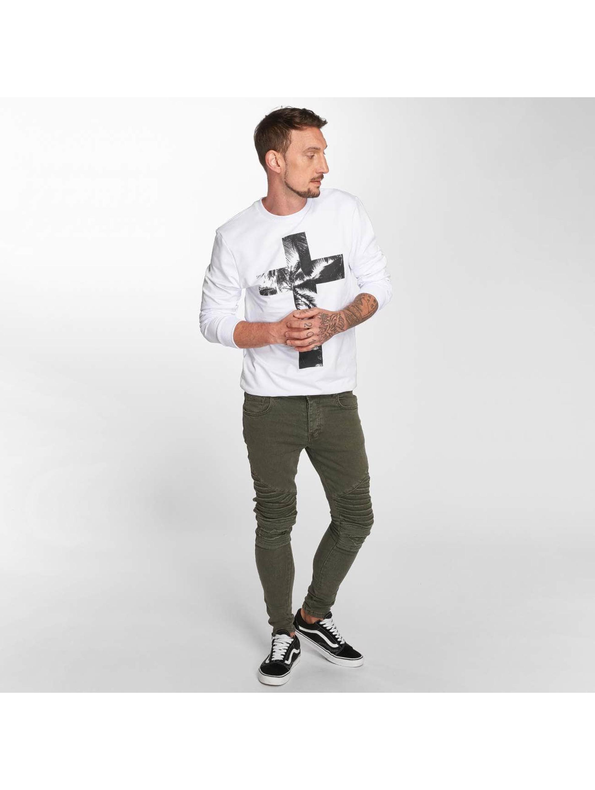 VSCT Clubwear Sweat & Pull Cross Palm Loose blanc
