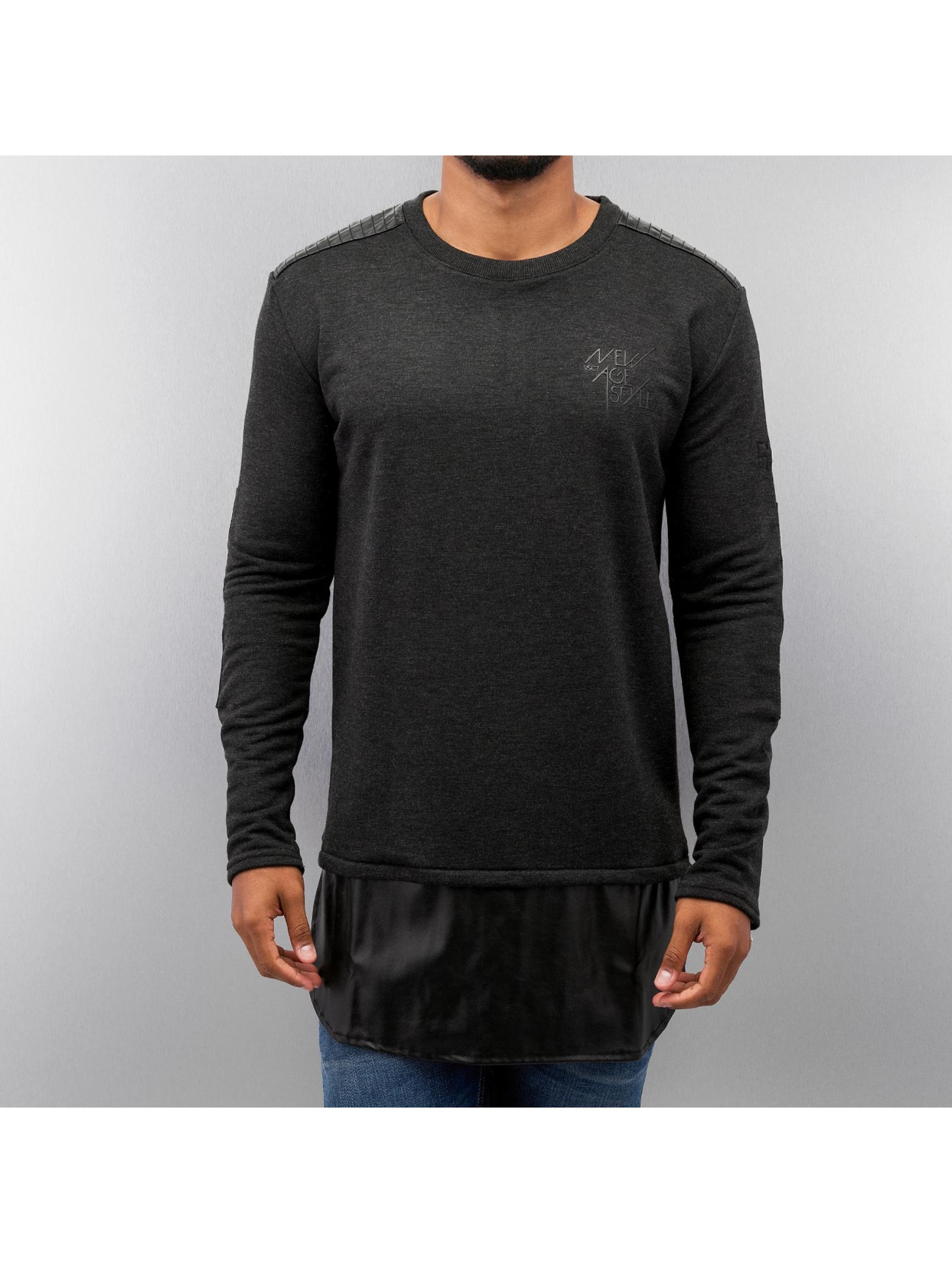 VSCT Clubwear Sweat & Pull Biker gris