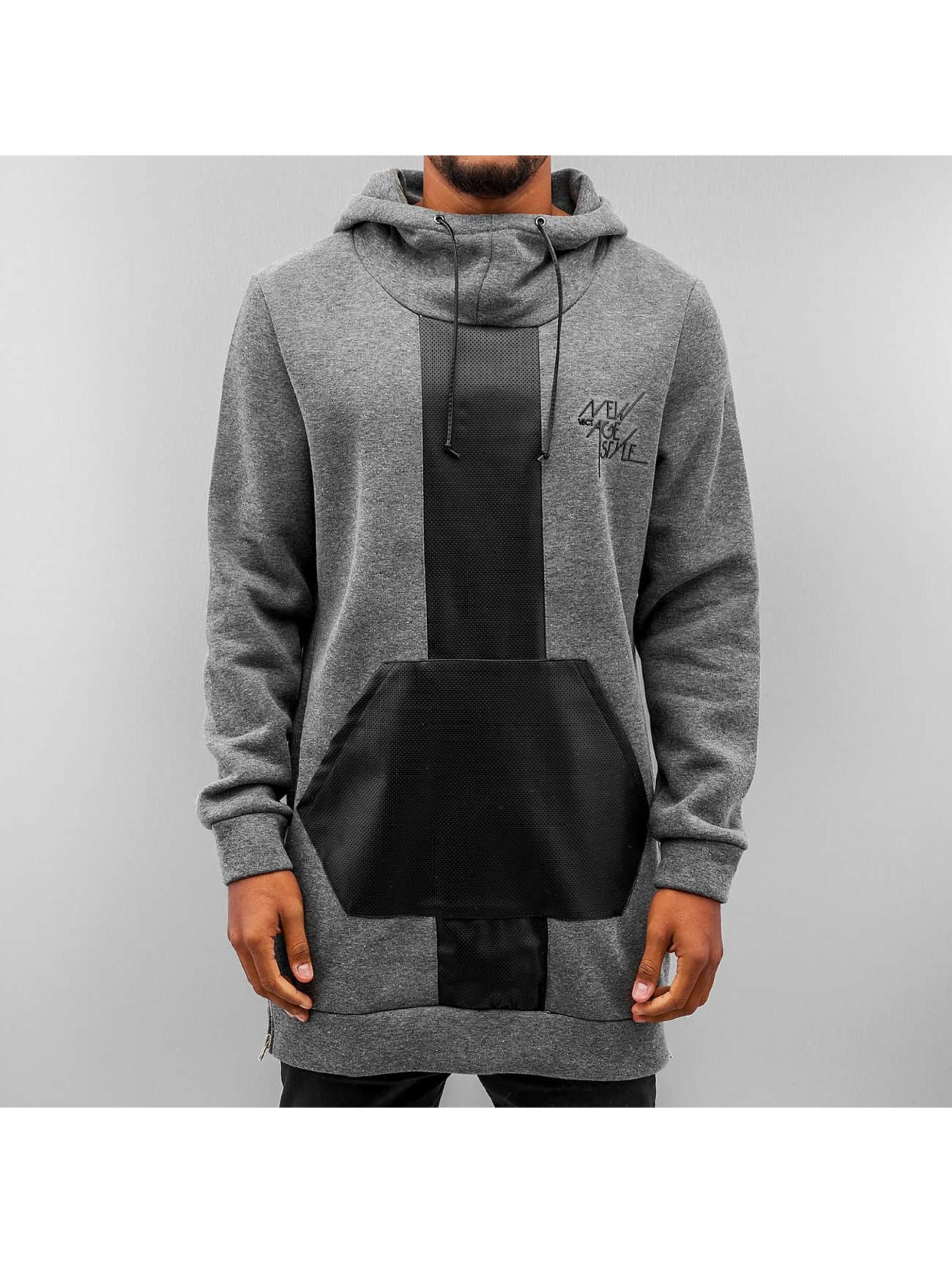 VSCT Clubwear Sweat capuche Mesh gris