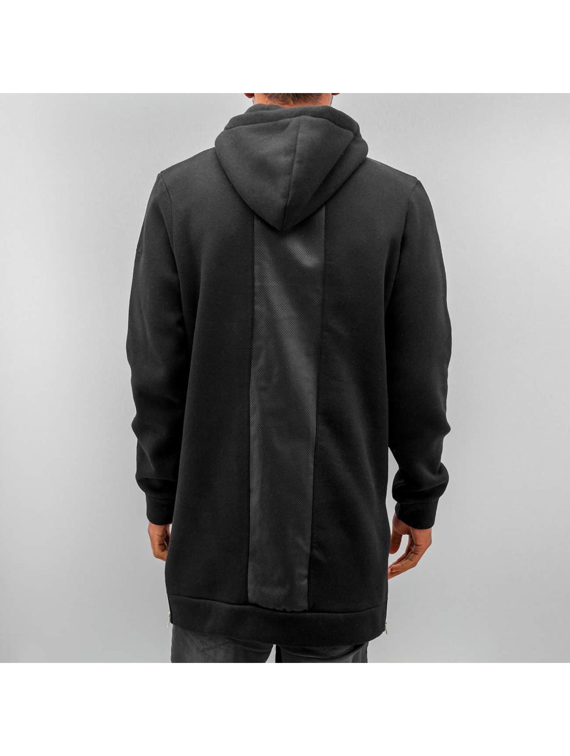 VSCT Clubwear Sweat capuche Mesh noir
