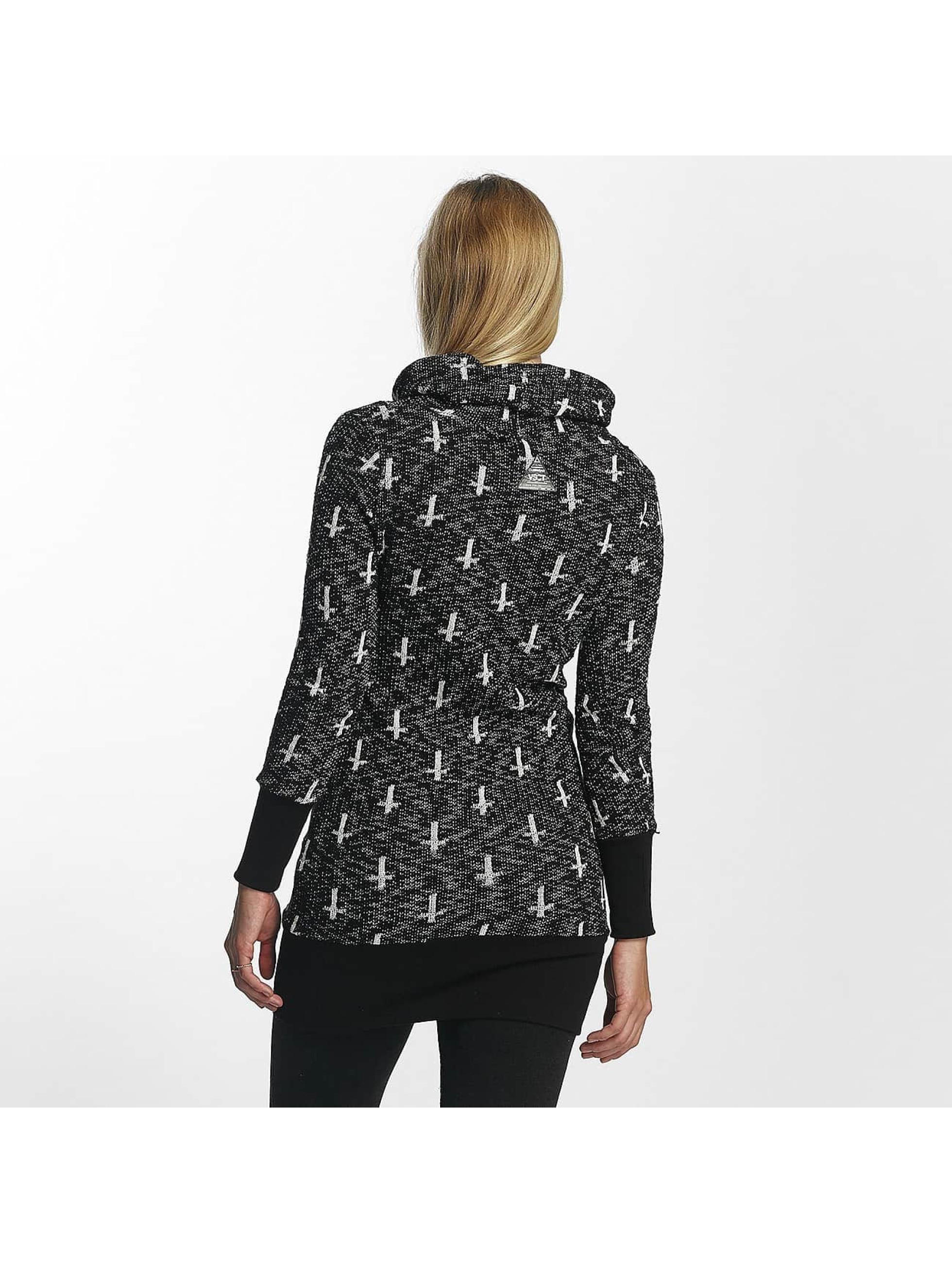 VSCT Clubwear Sweat capuche Reverse Cross noir