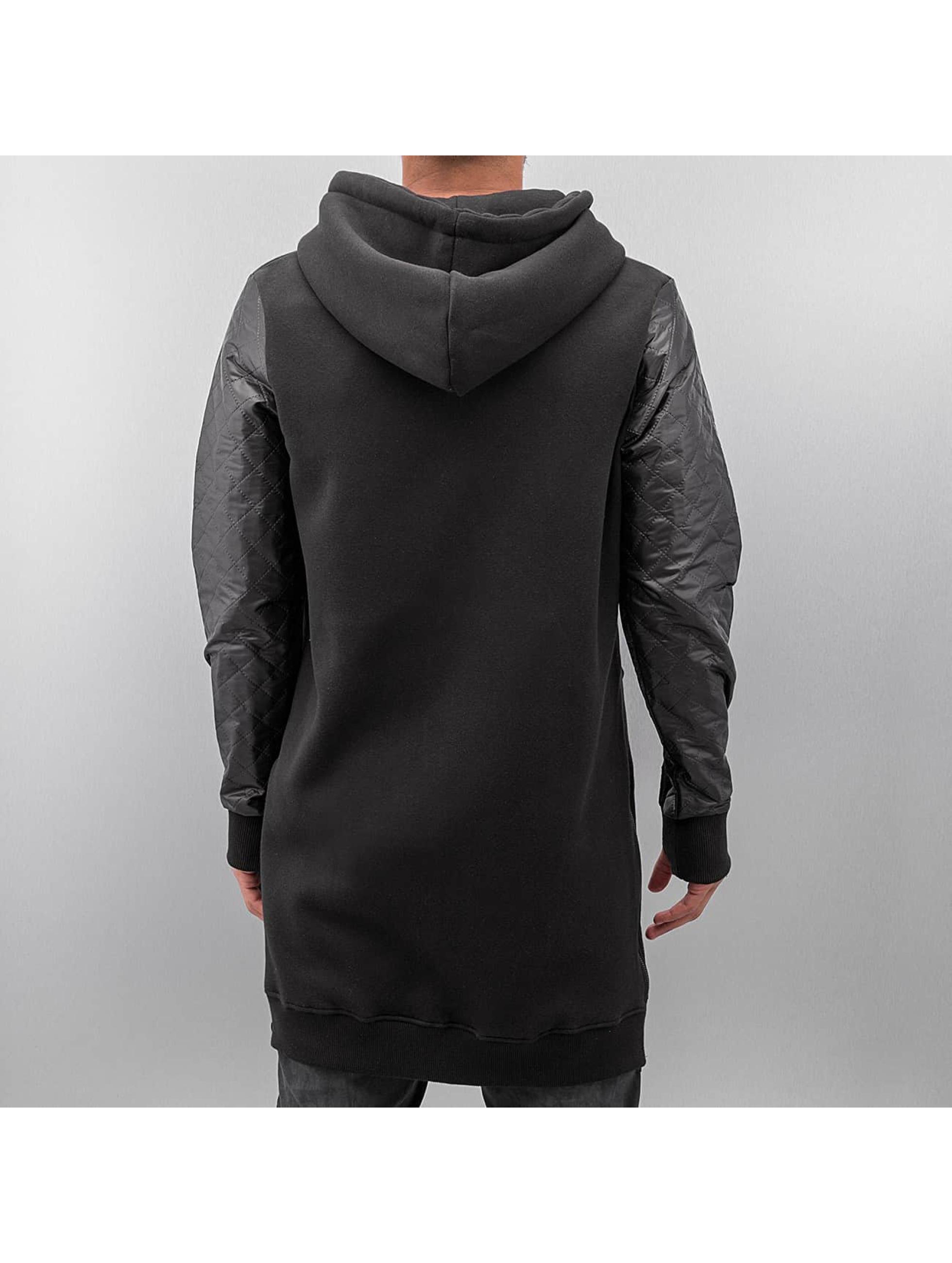 VSCT Clubwear Sweat capuche zippé Xtended noir