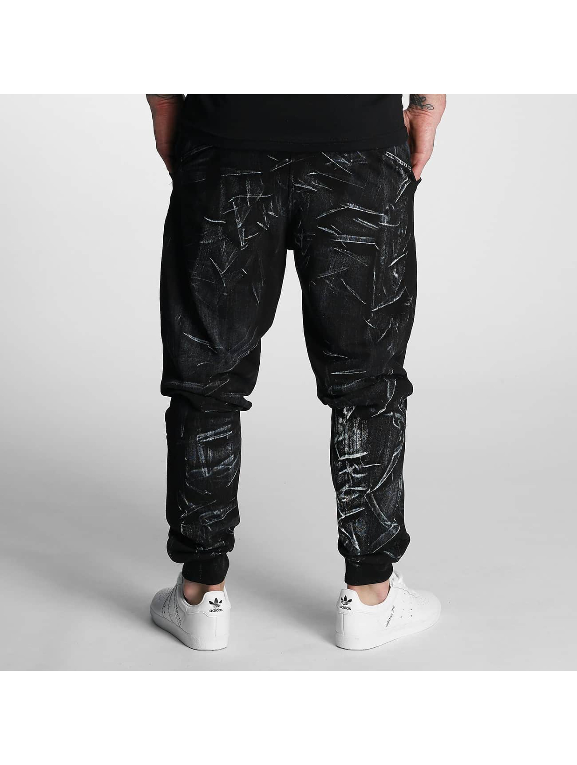 VSCT Clubwear Sweat Pant Twisted Anatomy black