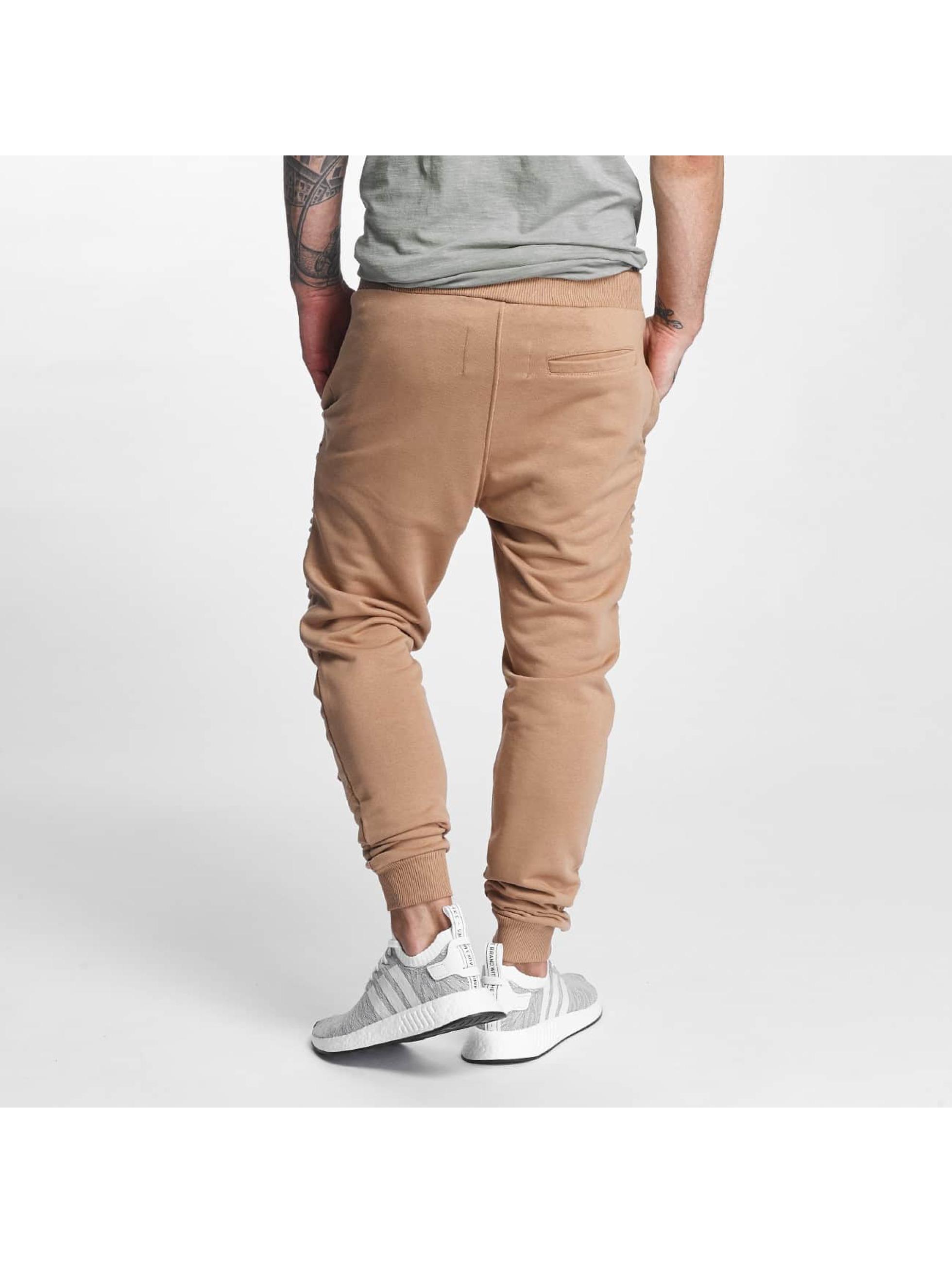 VSCT Clubwear Sweat Pant Destroyed Biker brown