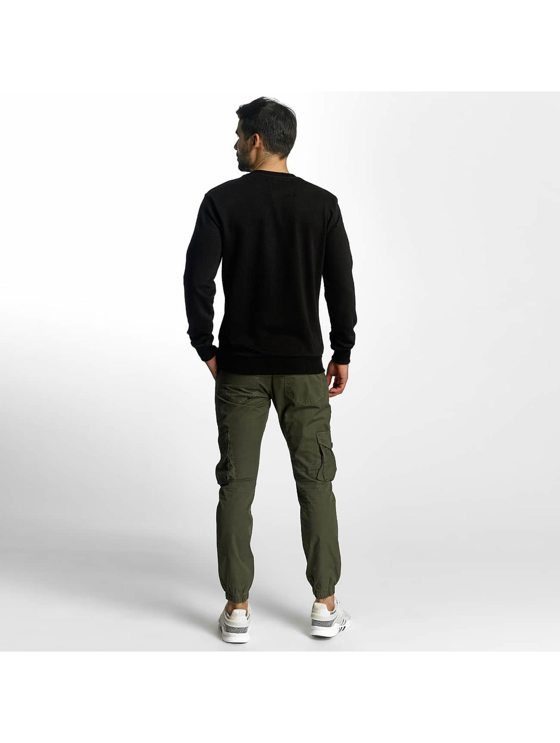 VSCT Clubwear Swetry Cross Palm Loose czarny