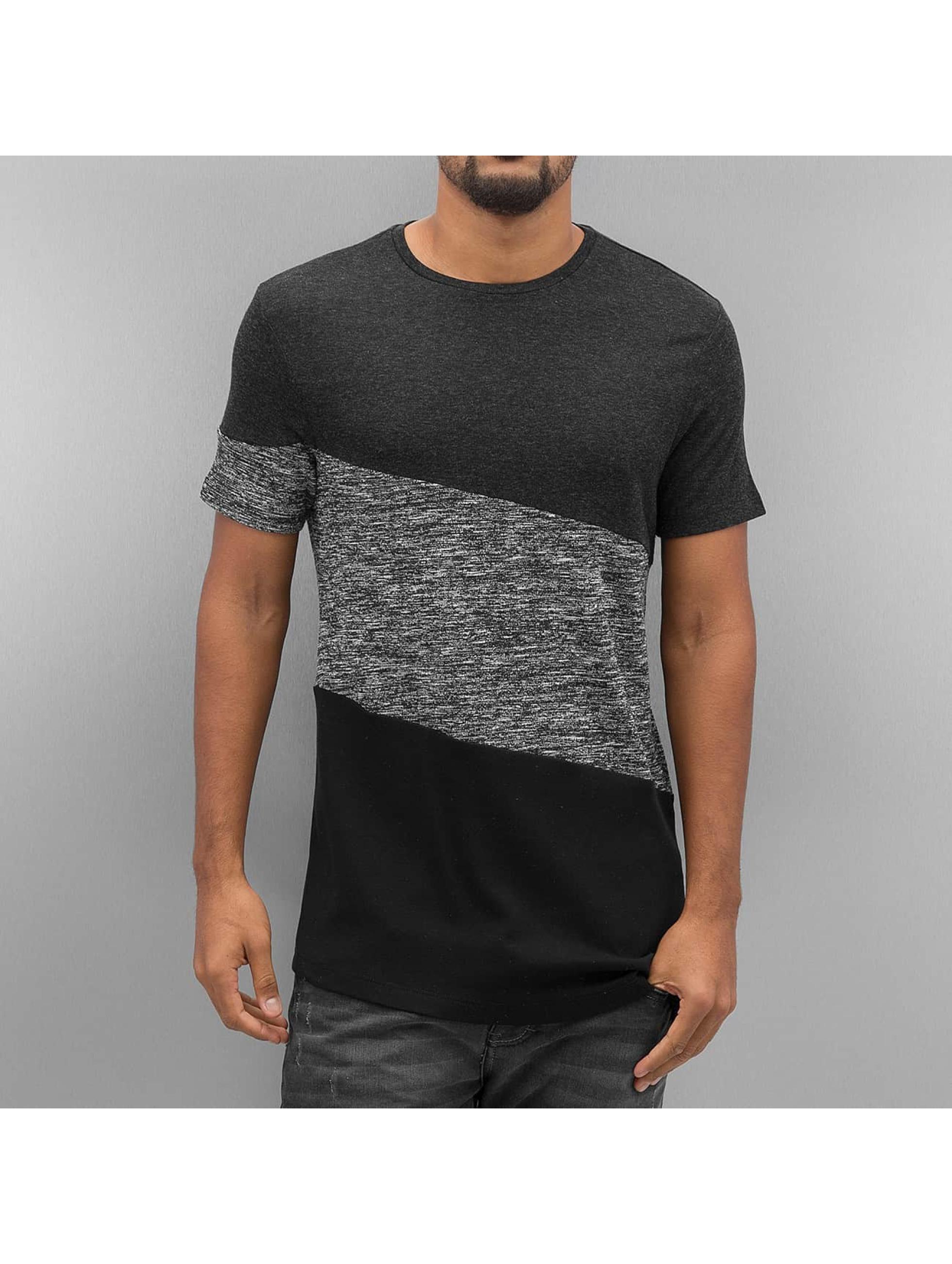 VSCT Clubwear T-shirt Sate Mix Fabric grå