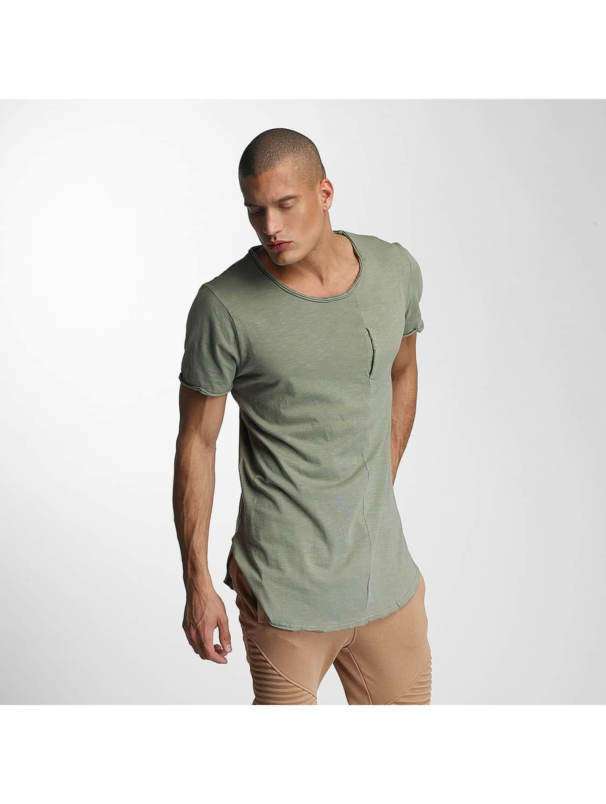 VSCT Clubwear T-Shirt Flamed Pkt kaki