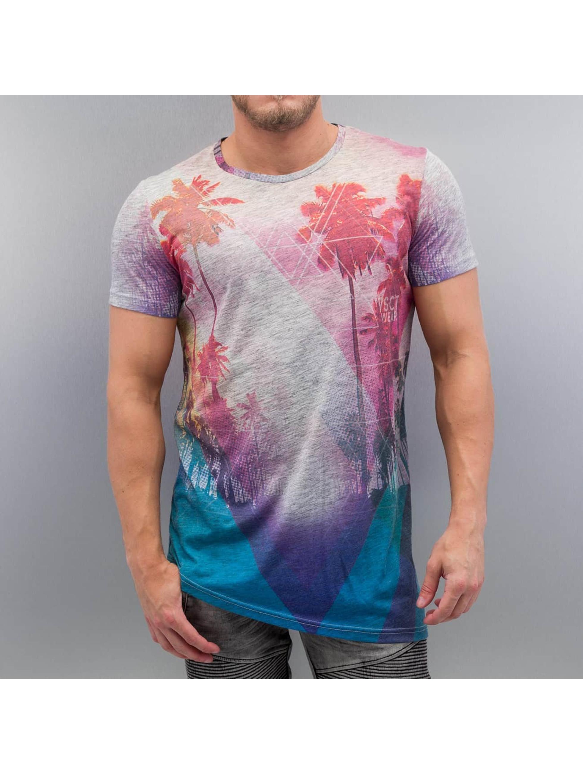 T-Shirt VSCT Clubwear Geo Rays & Palms en multicolore