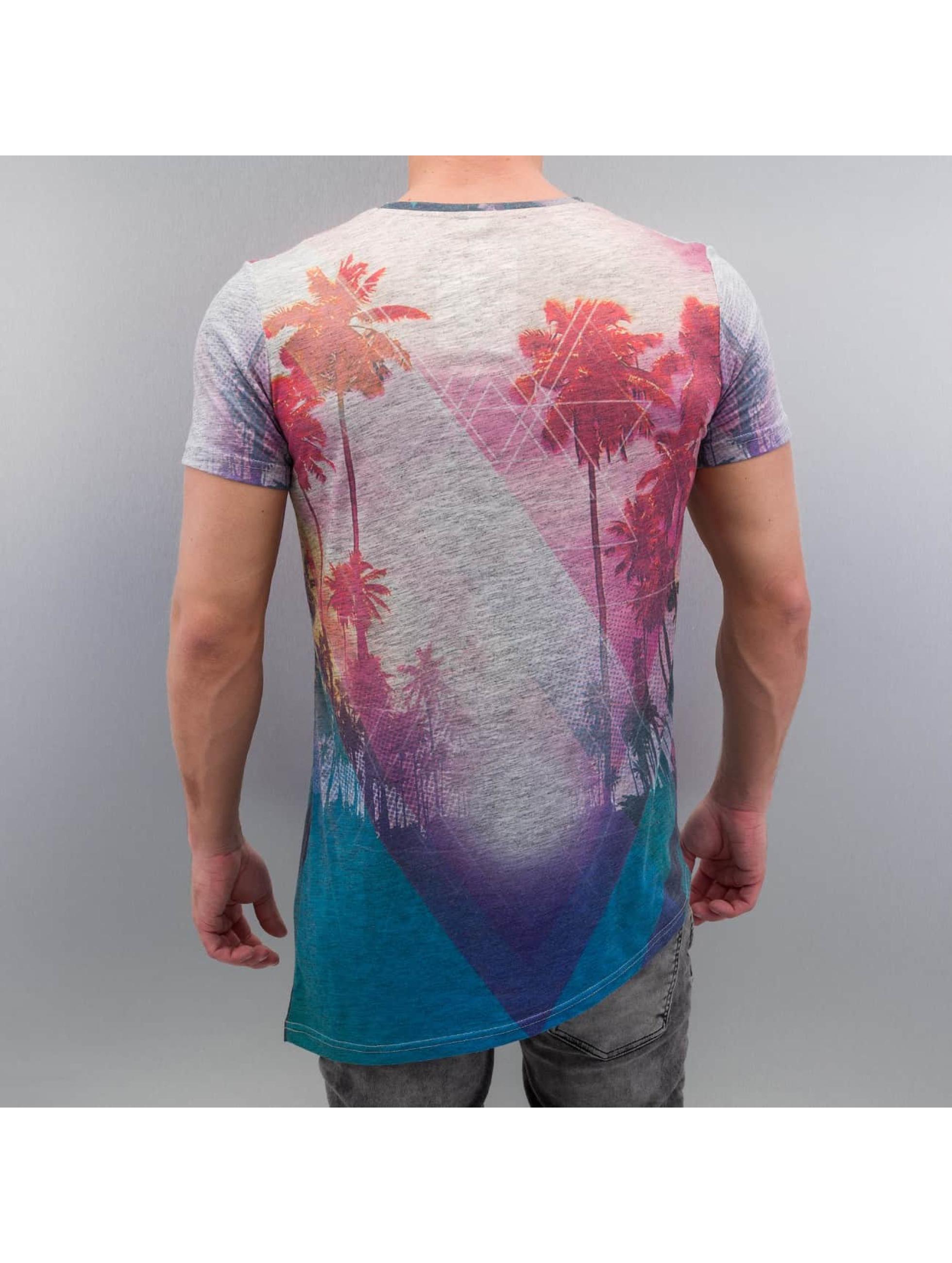 VSCT Clubwear T-Shirt Geo Rays & Palms multicolore