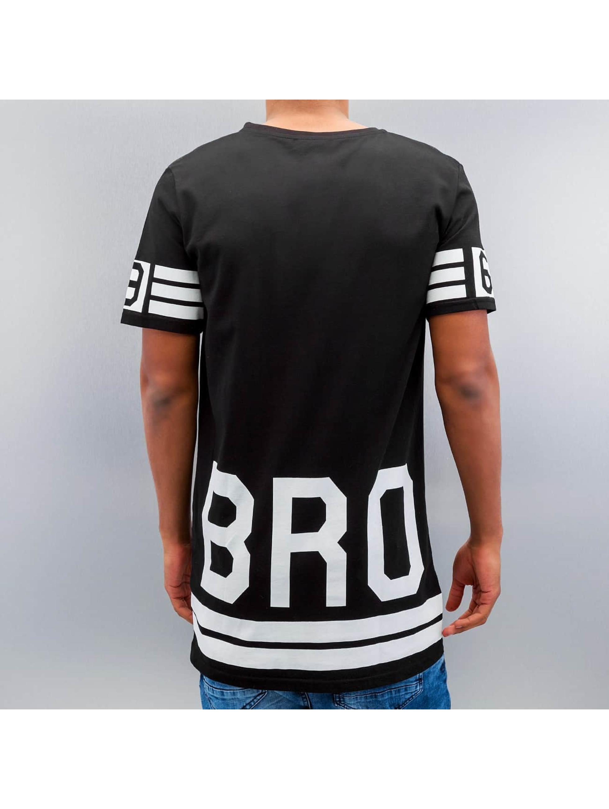 VSCT Clubwear t-shirt Flamingo Bro Oversize zwart