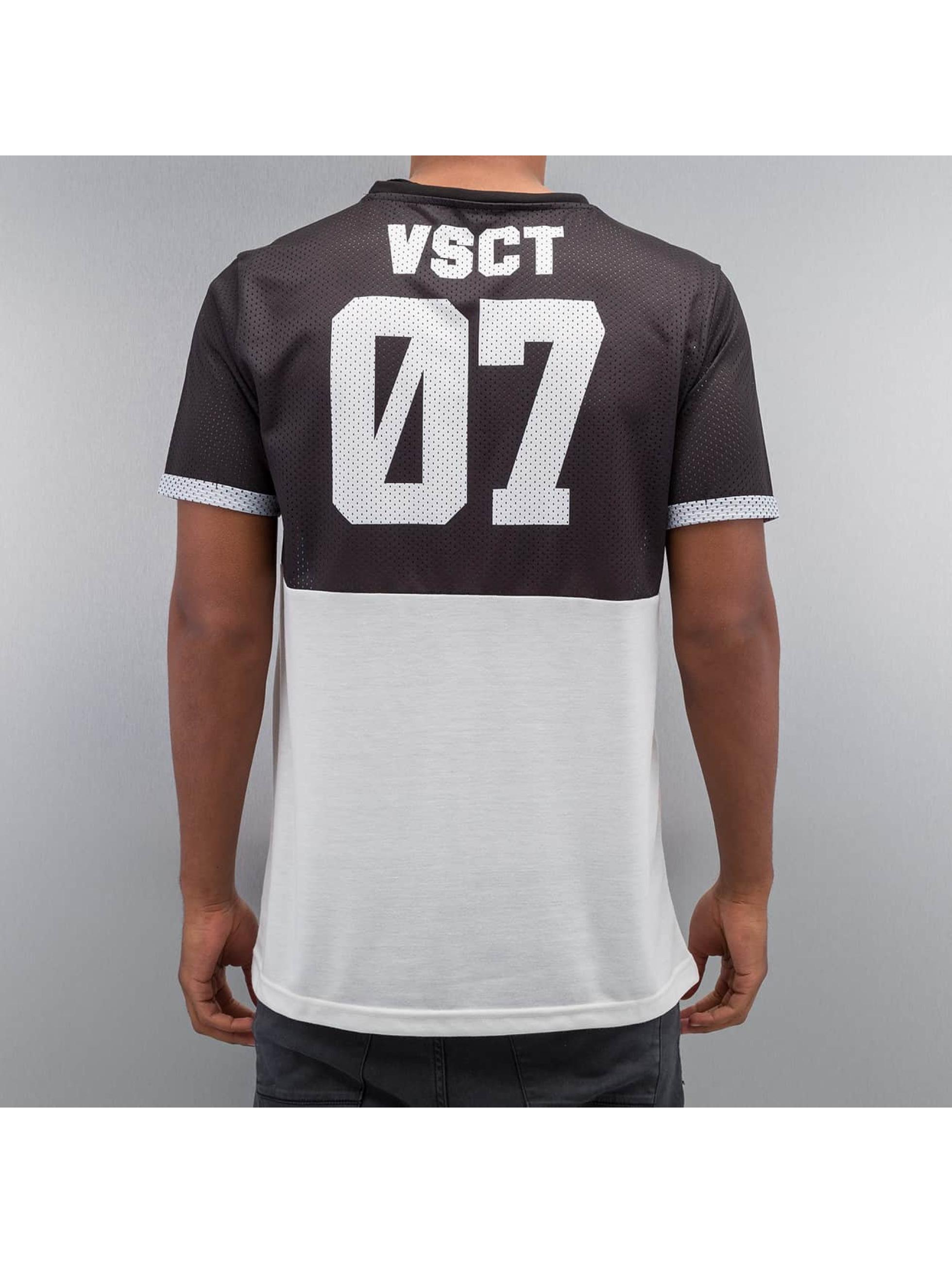 VSCT Clubwear t-shirt Geo Maze Fade zwart