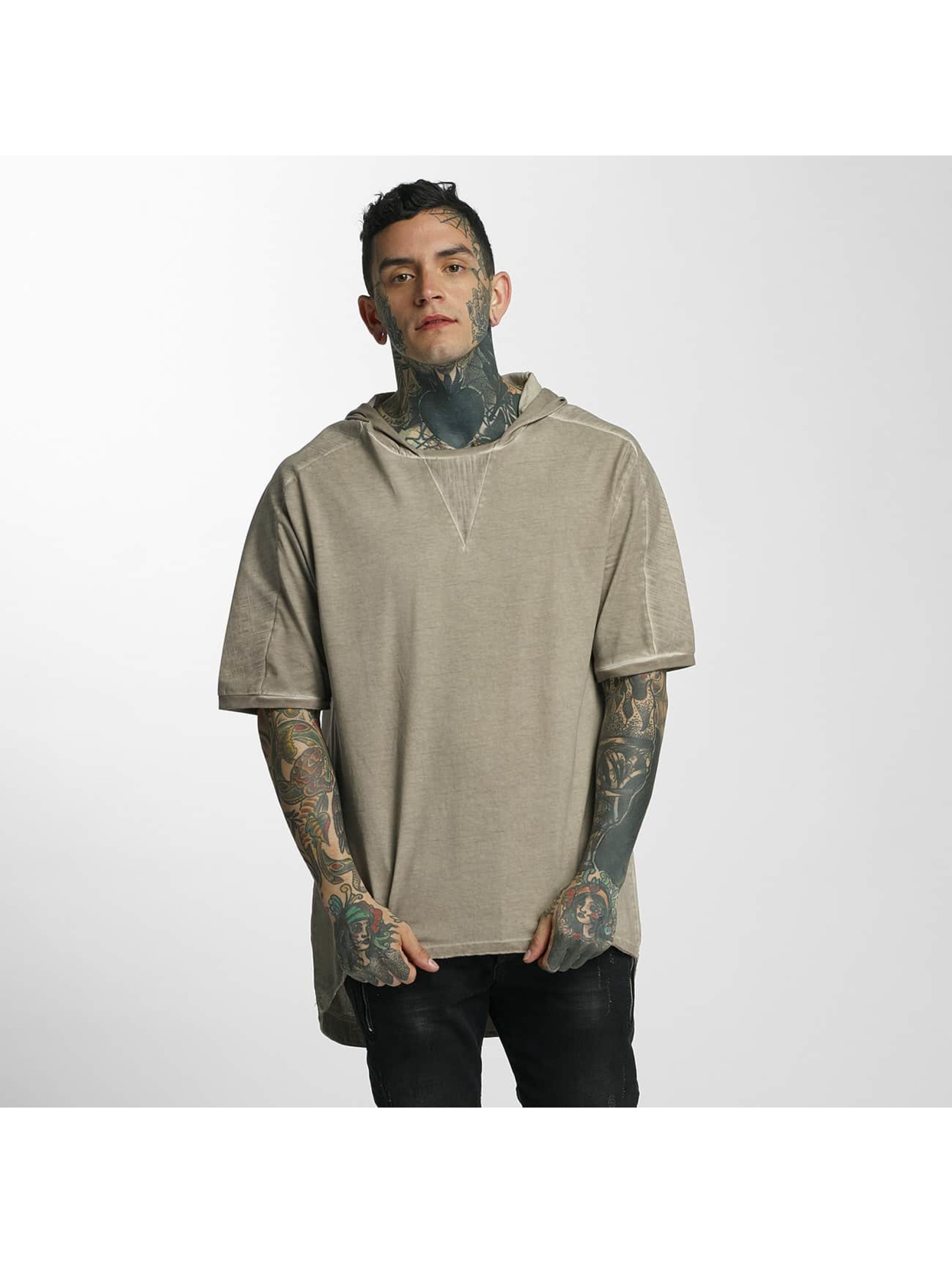 VSCT Clubwear T-Shirty Hooded bezowy