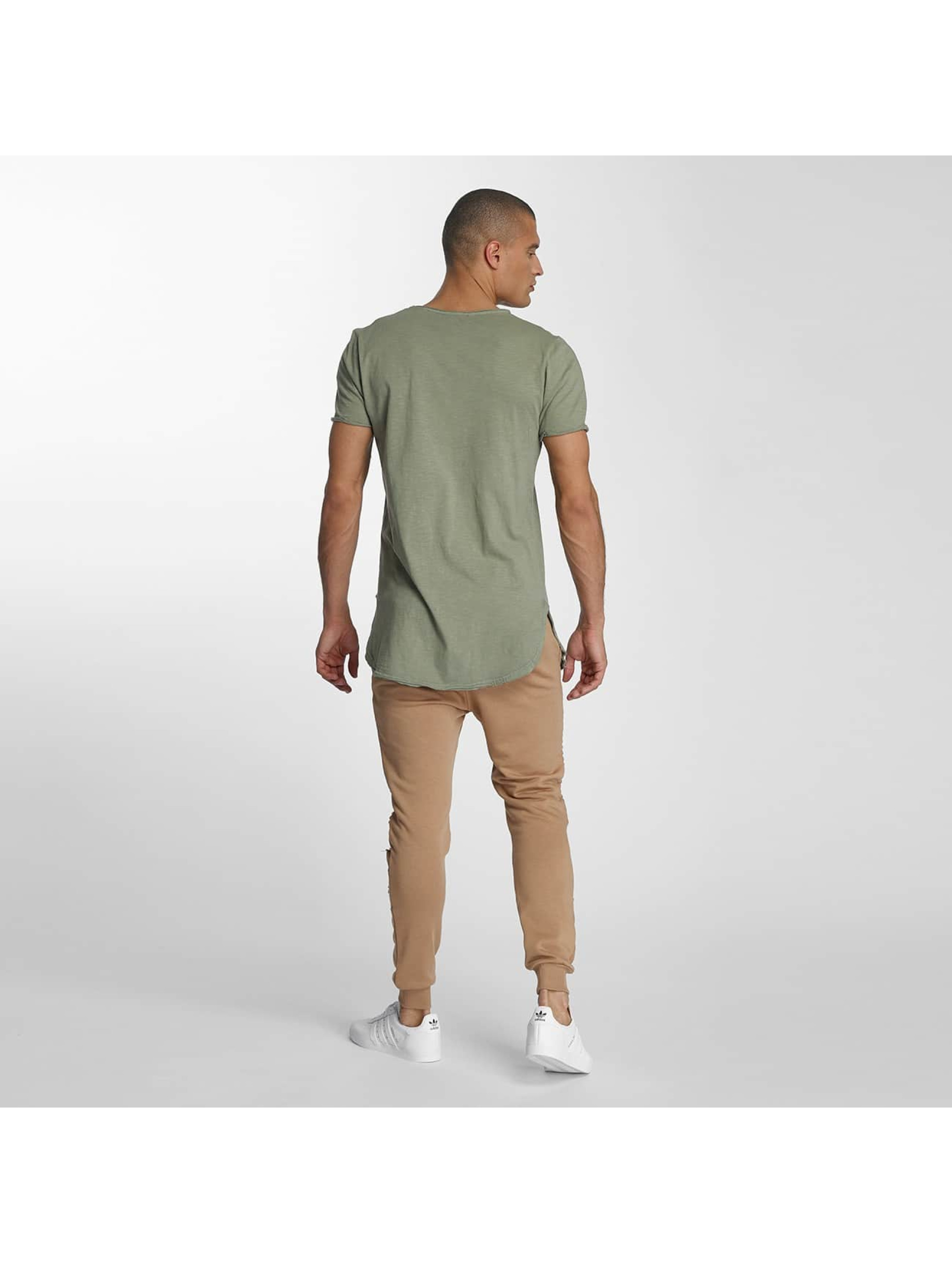 VSCT Clubwear T-Shirty Flamed Pkt khaki
