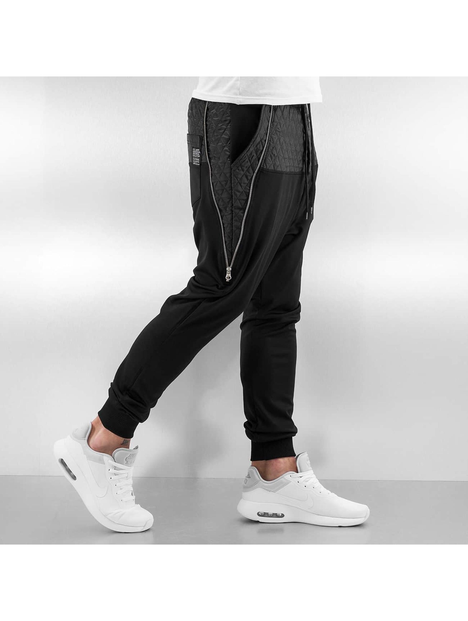 VSCT Clubwear tepláky Lowcrotch Padded èierna