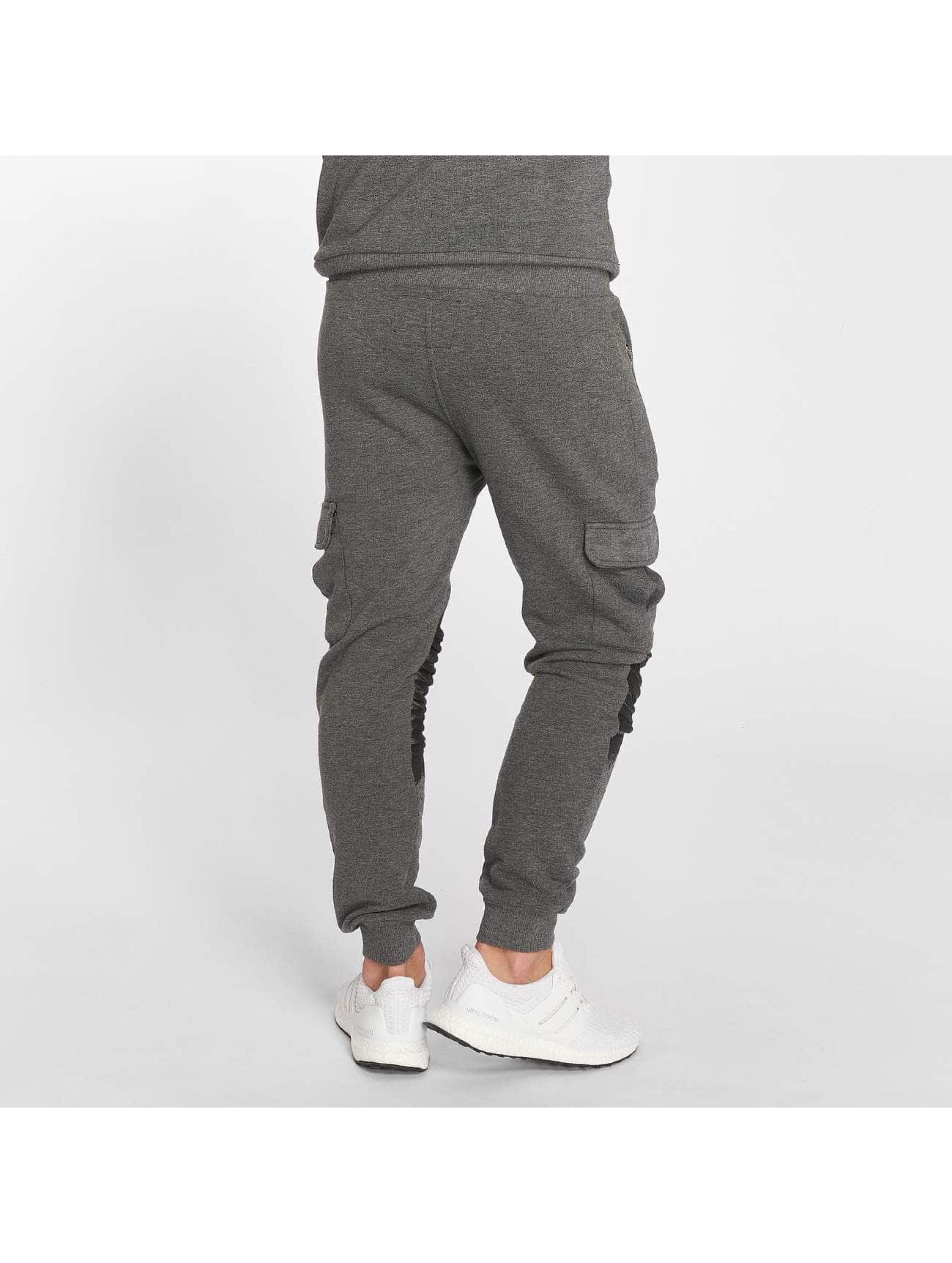 VSCT Clubwear tepláky Cargo Oiled šedá