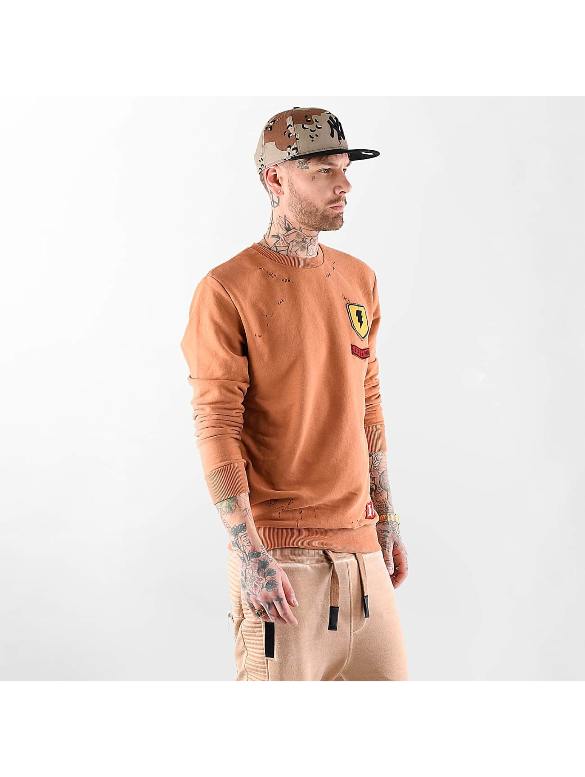 VSCT Clubwear Trøjer Customized Patch Crew orange