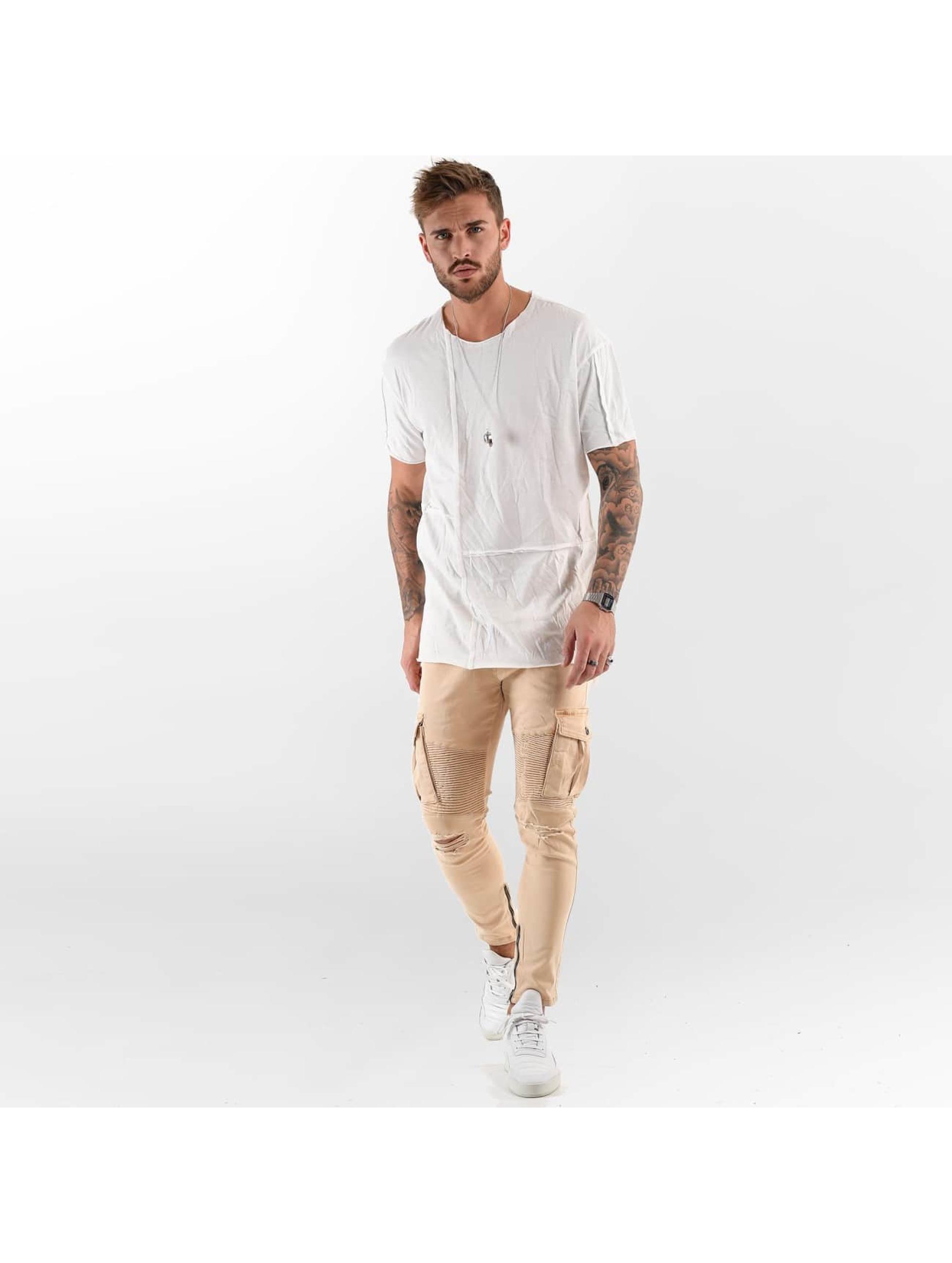 VSCT Clubwear Tričká Cubic Round biela